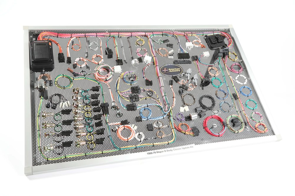 medium resolution of american autowire bbody mopar wiring kit