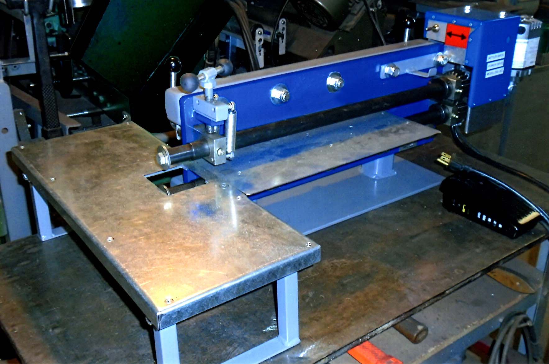 This inexpensive beading machine has been reinforced, and motorized. There are a number of other improvements that are detailed in this column.