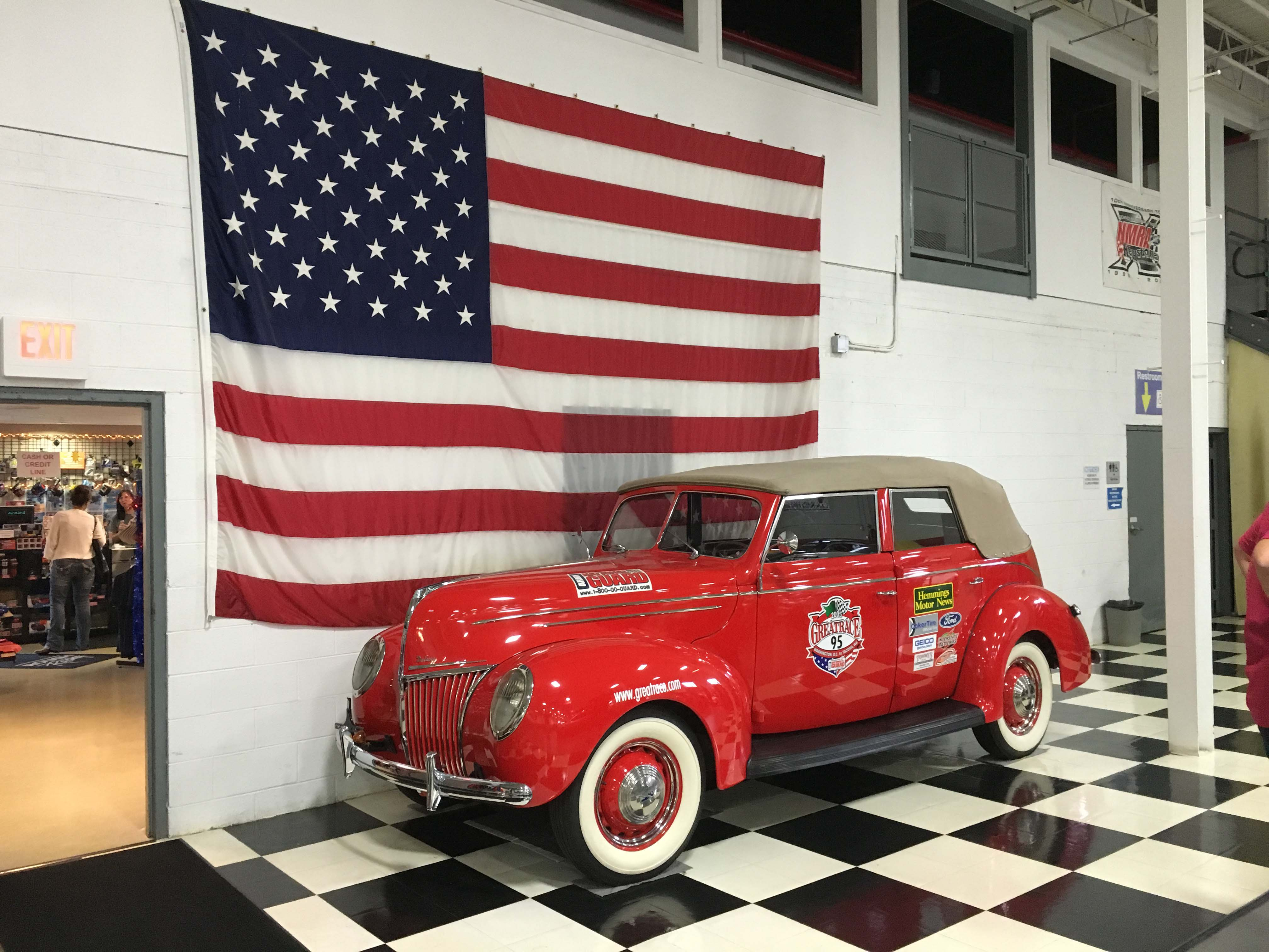 """When most folks hear the name Jack Roush they think of that """"cat in the hat"""" overseeing his NASCAR teams at all the races. He also has a fantastic and wide-ranging collection of special-interest vehicles. We visited the collection in Livonia. This is one of his vehicles that competed in the 2005 Great Race."""