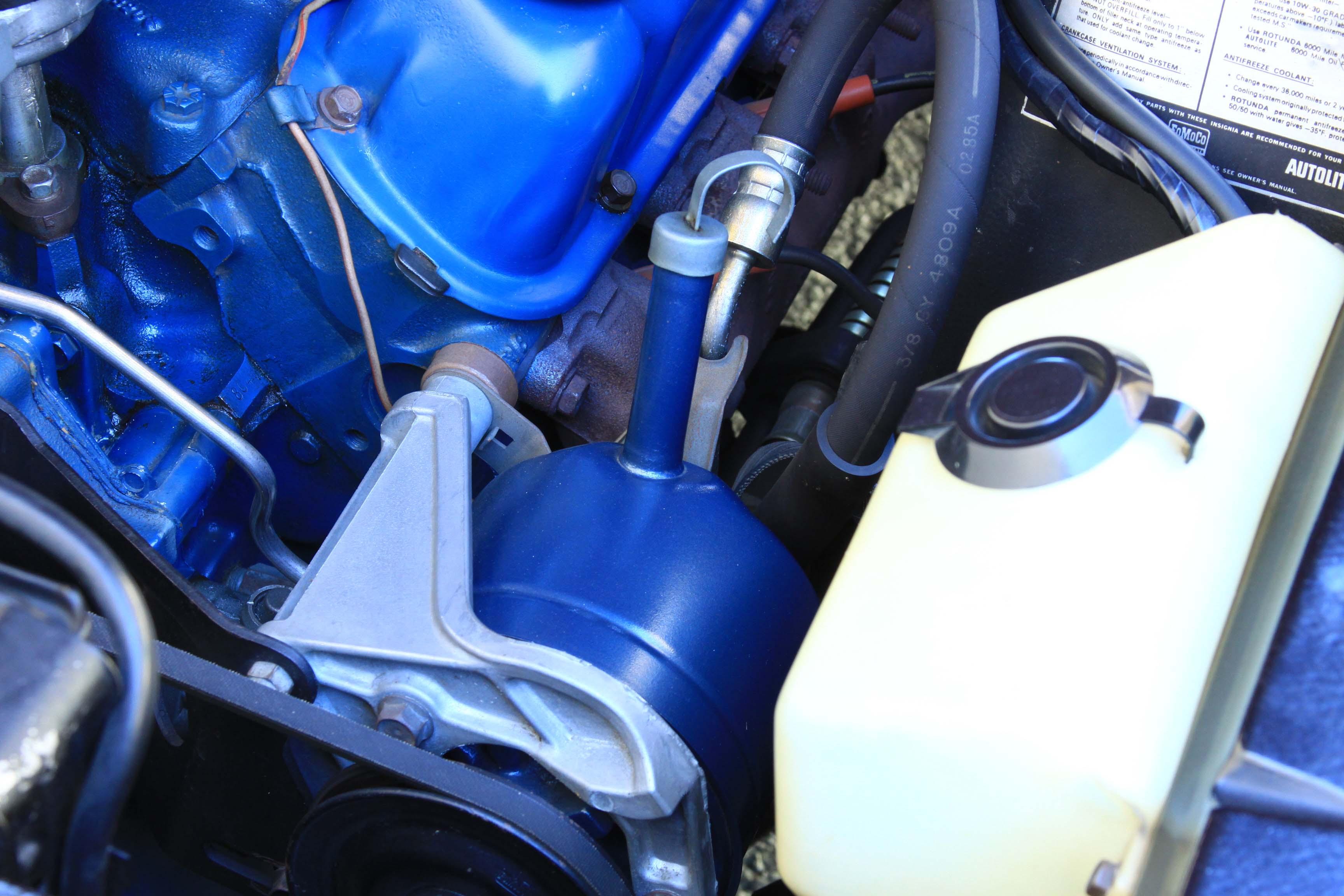 Ford Power Steering Pump Diagram