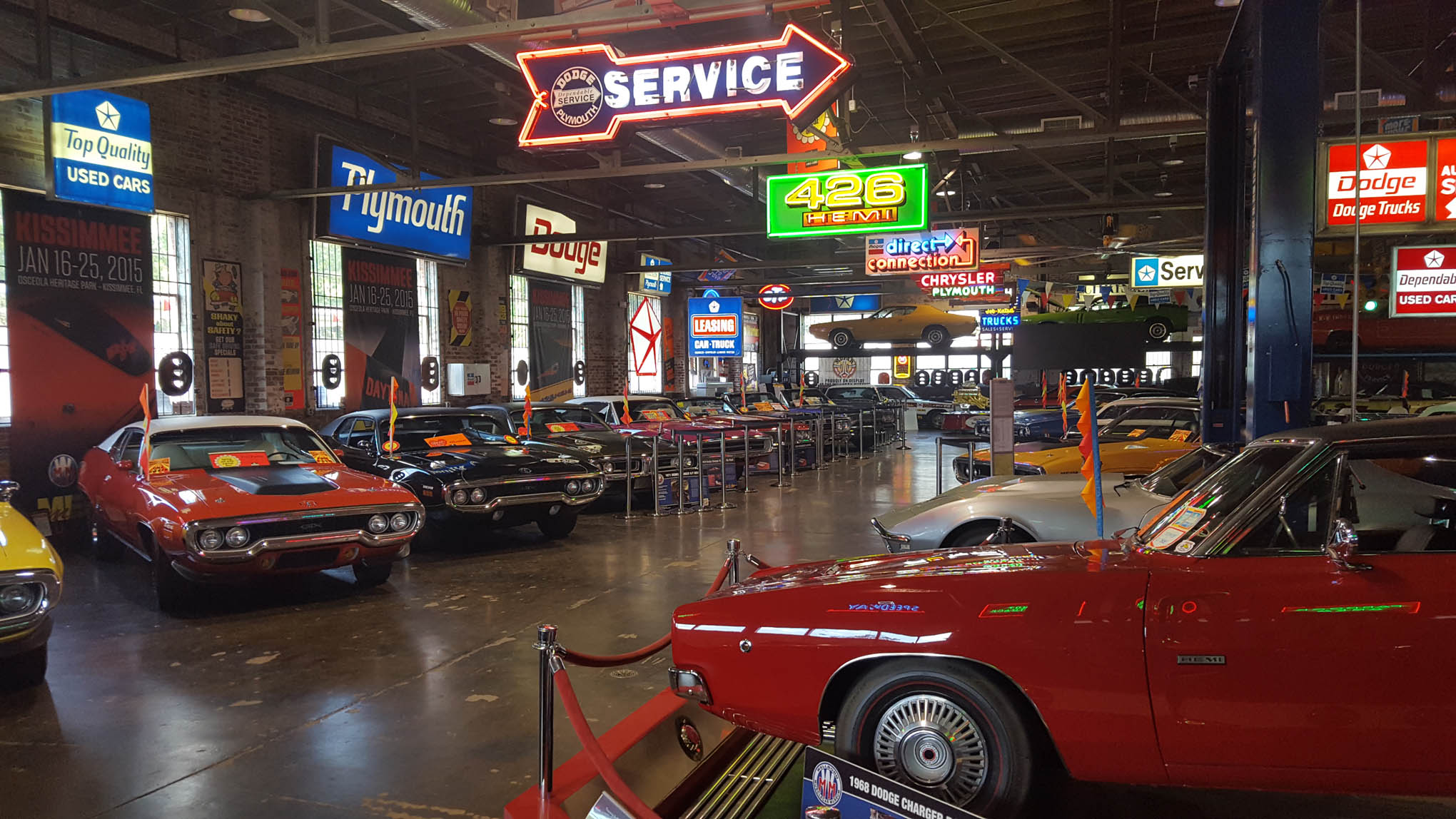 Gallery Inside the Wellborn Musclecar Museum  Hot Rod
