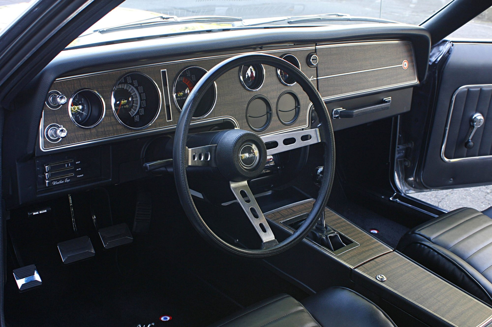 hight resolution of check out the coyote engine in this 1970 javelin hot rod network 1968 oldsmobile cutlass wiring diagram 1968 amc javelin tachometer wiring diagram