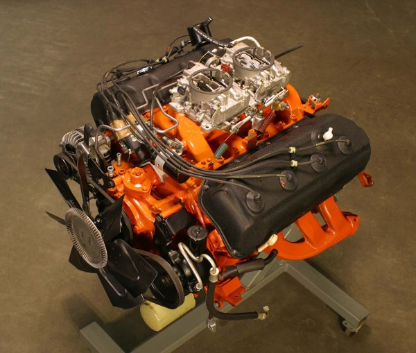 Classic Muscle Car Engine Working Piece Of Art