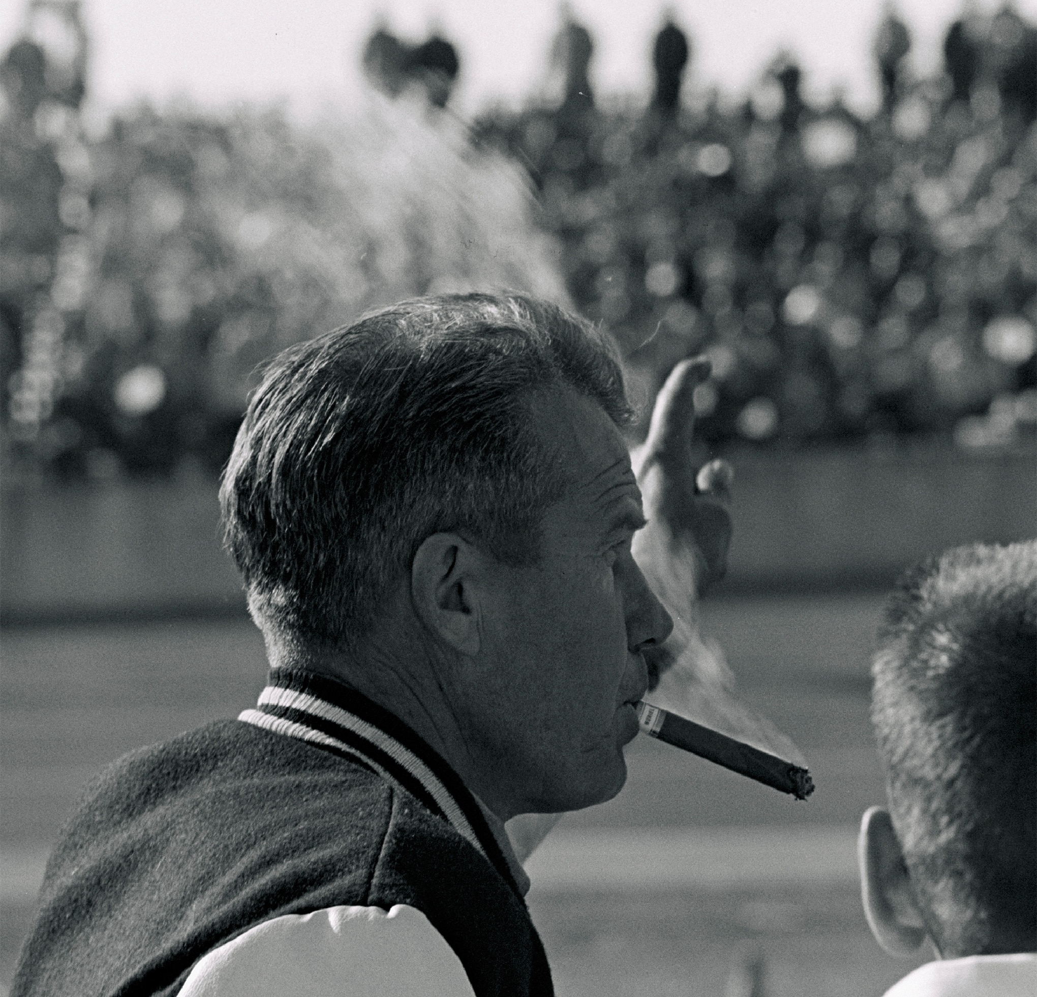 His son's breakthrough win followed Lee Petty's victory in the inaugural 1959 Daytona 500. This was the first major auto race ever won by a both a father and son. Lee, who retired from driving not long after recovering from a spectacular crash in the 1961 500 (see Nov. '16 HRD), became NASCAR's only three-time Grand National champion (1954, 1958, 1959) before transitioning to team owner and crewchief.