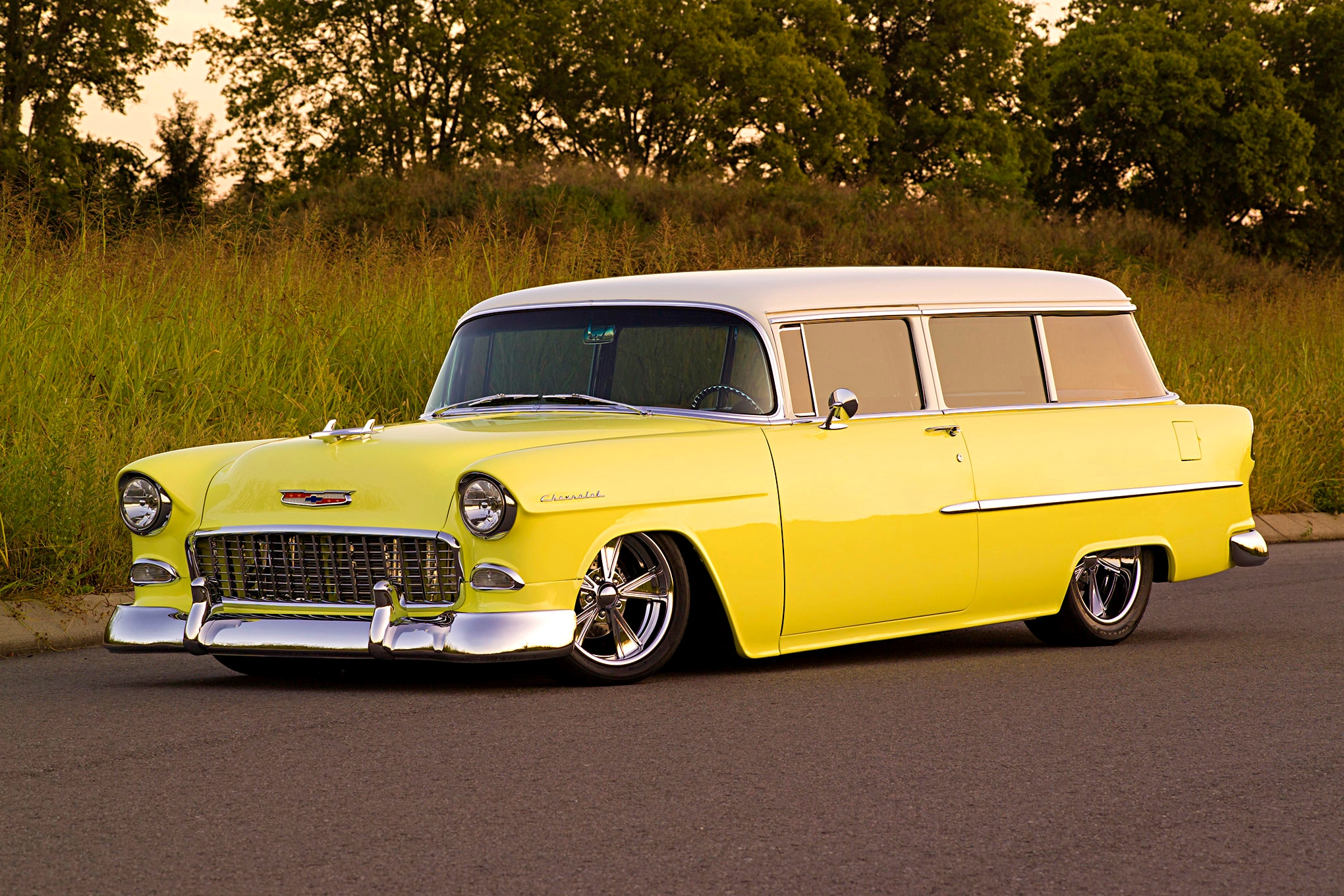 Bel 1956 Chevy Air Wagon Station