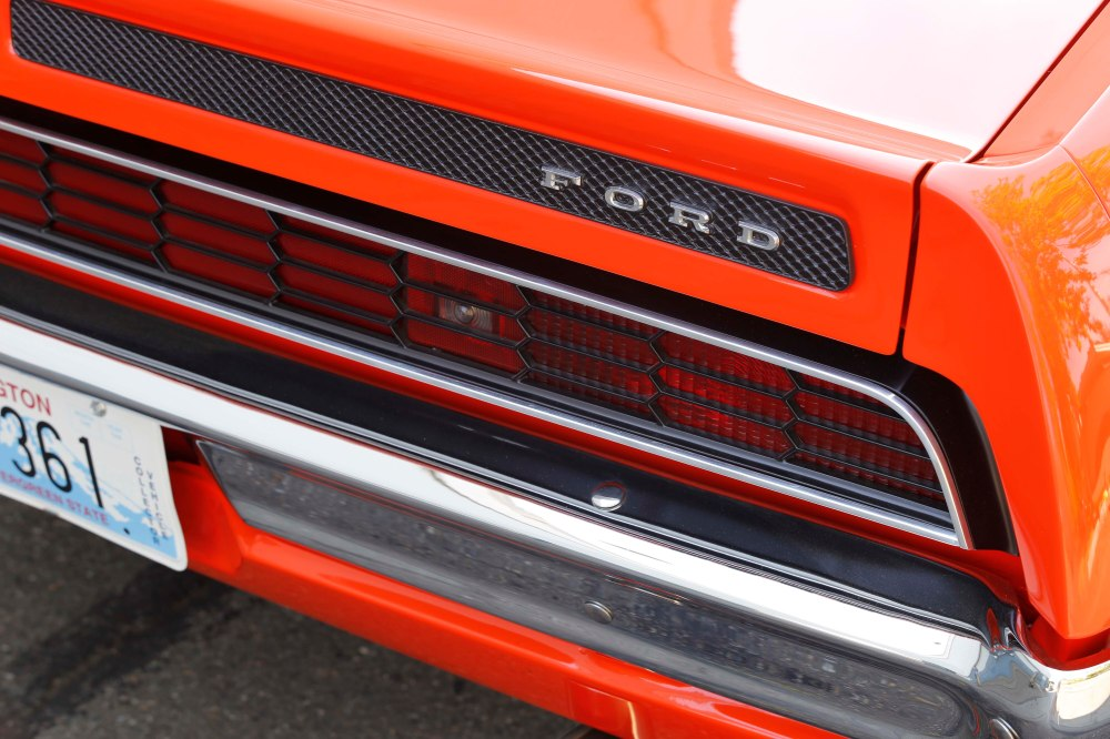 medium resolution of the full width honeycomb taillight reflector treatment was unique to gt models of the