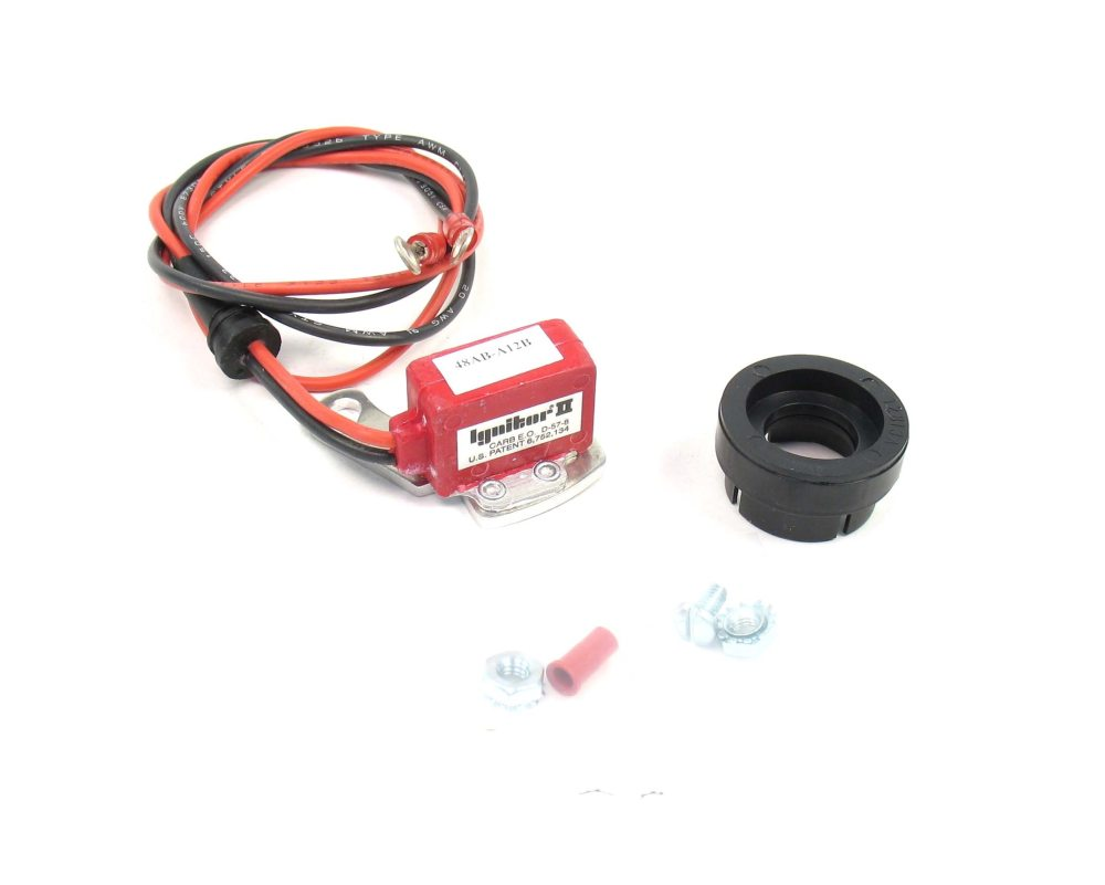 medium resolution of the pertronix ignitor ii uses a micro controller to adjust dwell over the engine s rpm range
