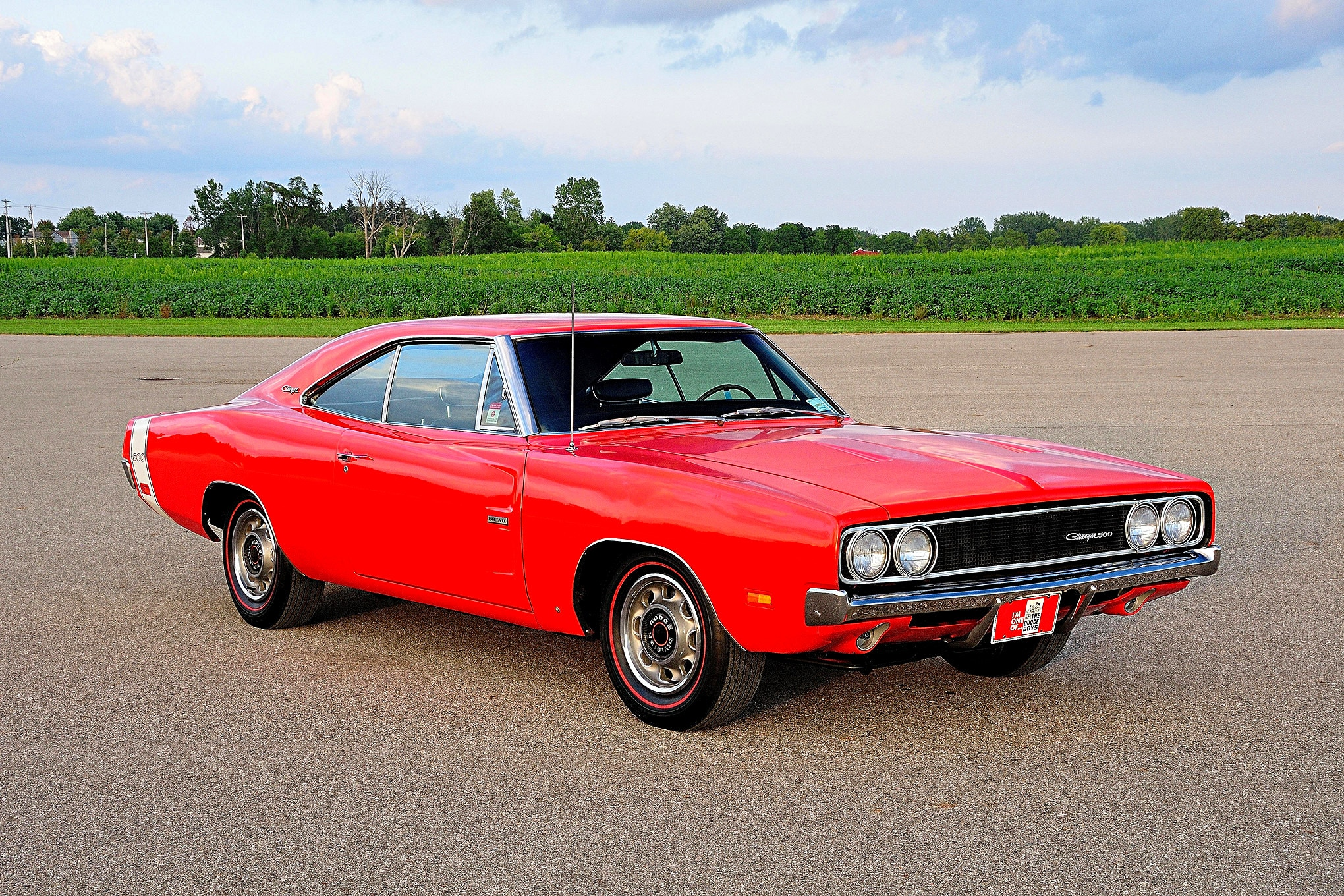 first 1969 dodge charger