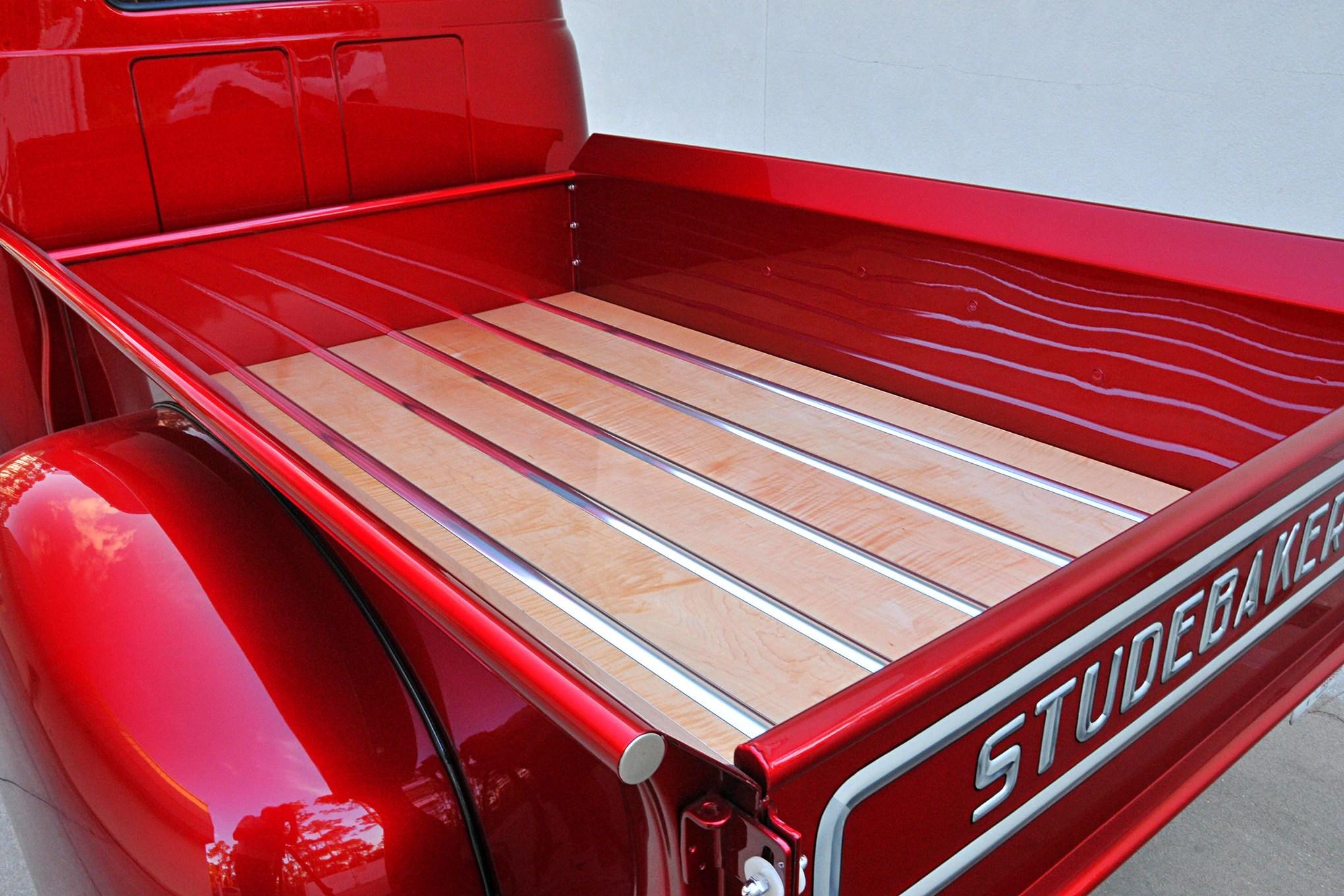 Denny Merritt S Salvaged Studebaker Pickup Hot Rod Network