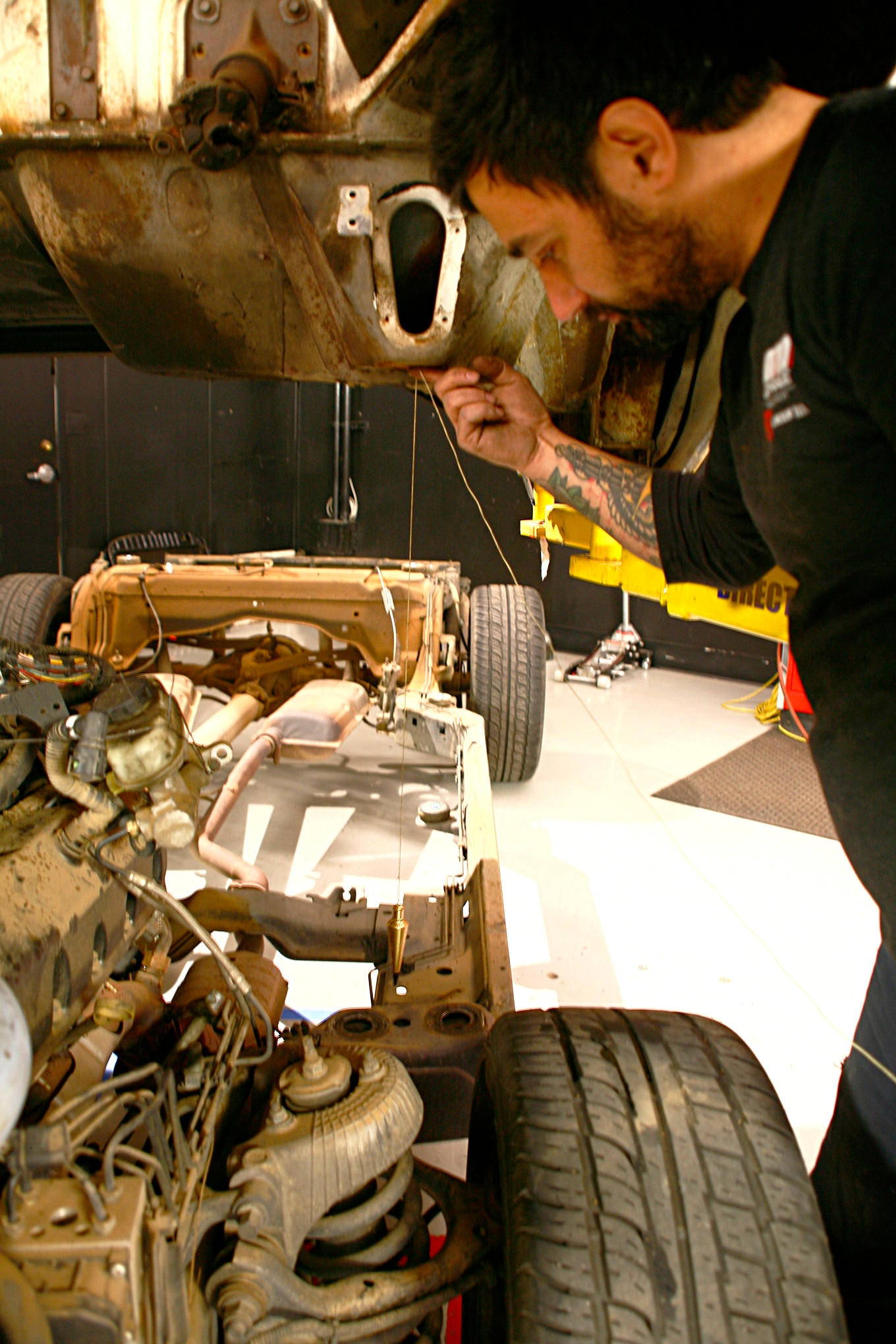 Wiring Harness 2007 Ford Police Car How To Swap A Cop Car Frame Under An F 100 Pickup Hot