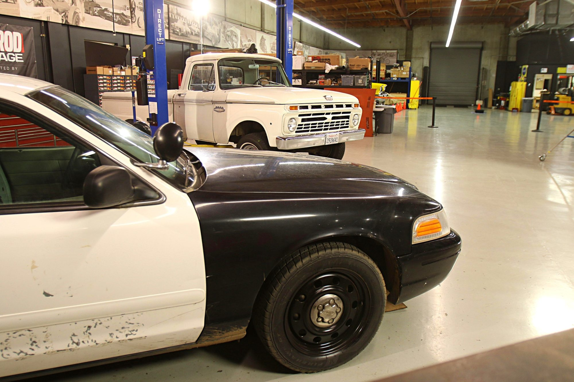 hight resolution of here are the two donor vehicles before any of the work began the 2007 crown