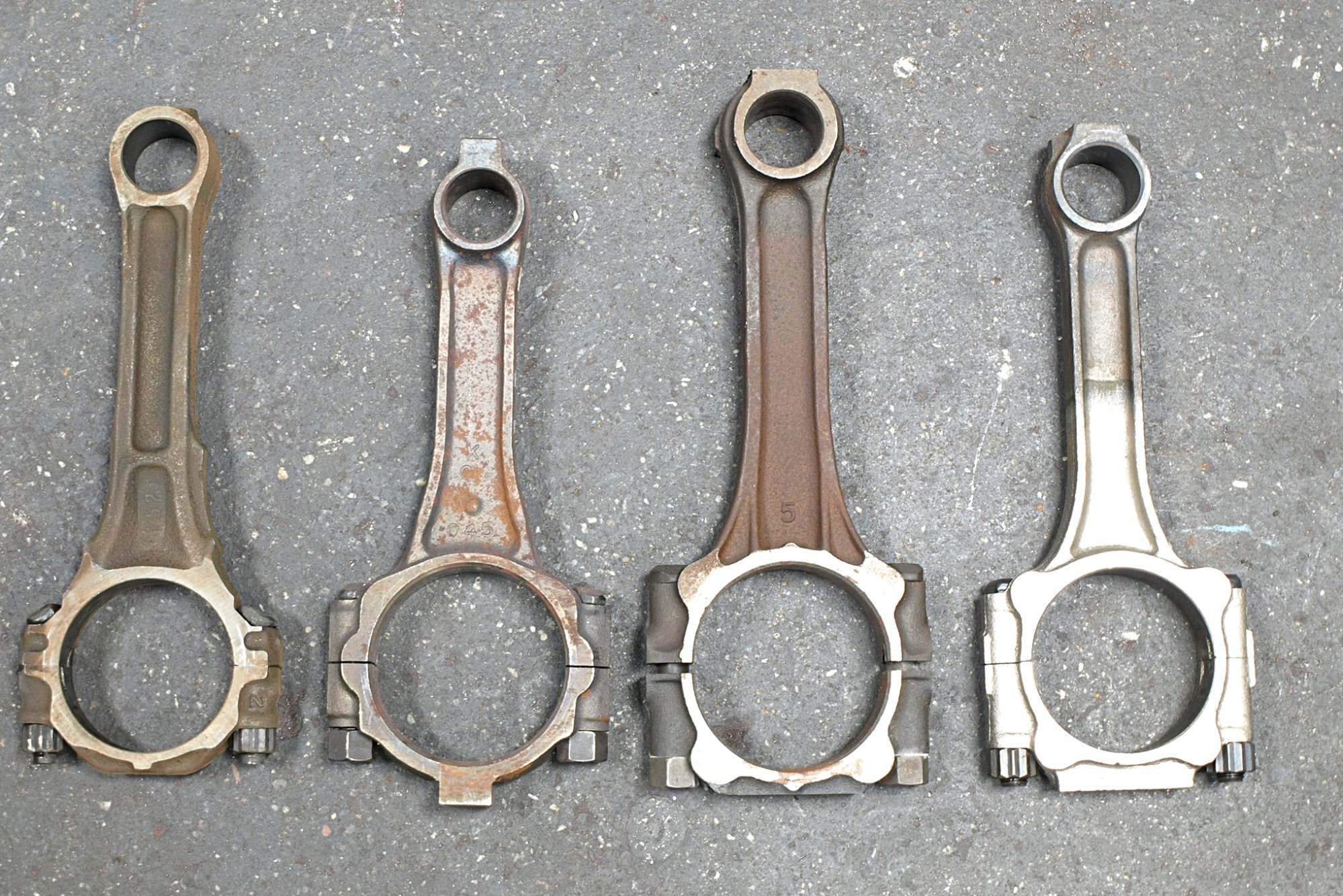 hight resolution of 7 this comparison of the connecting rods used in 350ci left to right buick