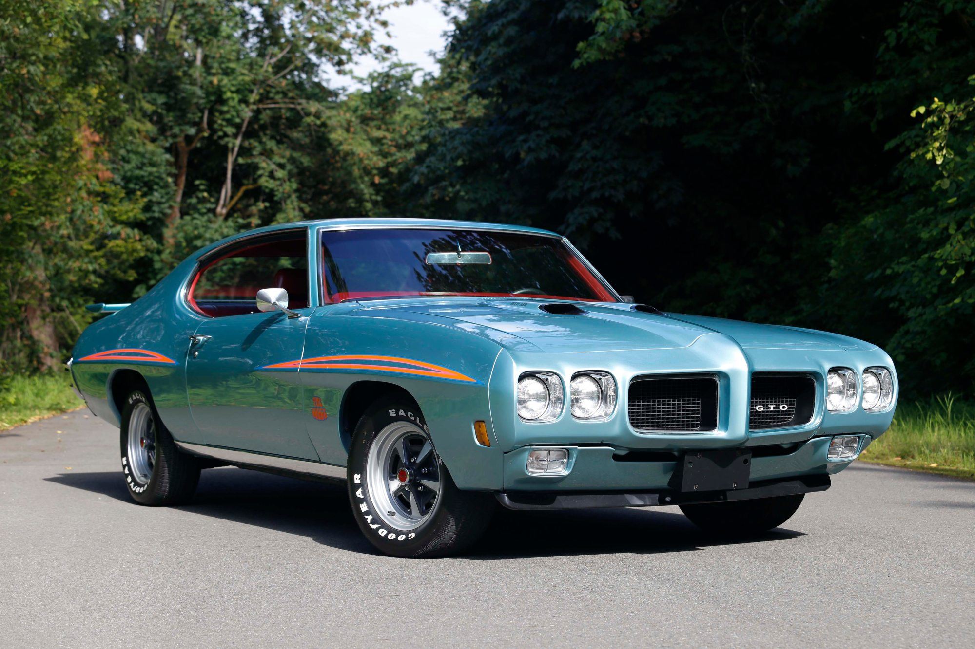 hight resolution of color combo on psychedelic 1970 pontiac gto judge never meant to be