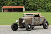 Barn Find 1932 Ford Roadster 1940s Hot Rod With