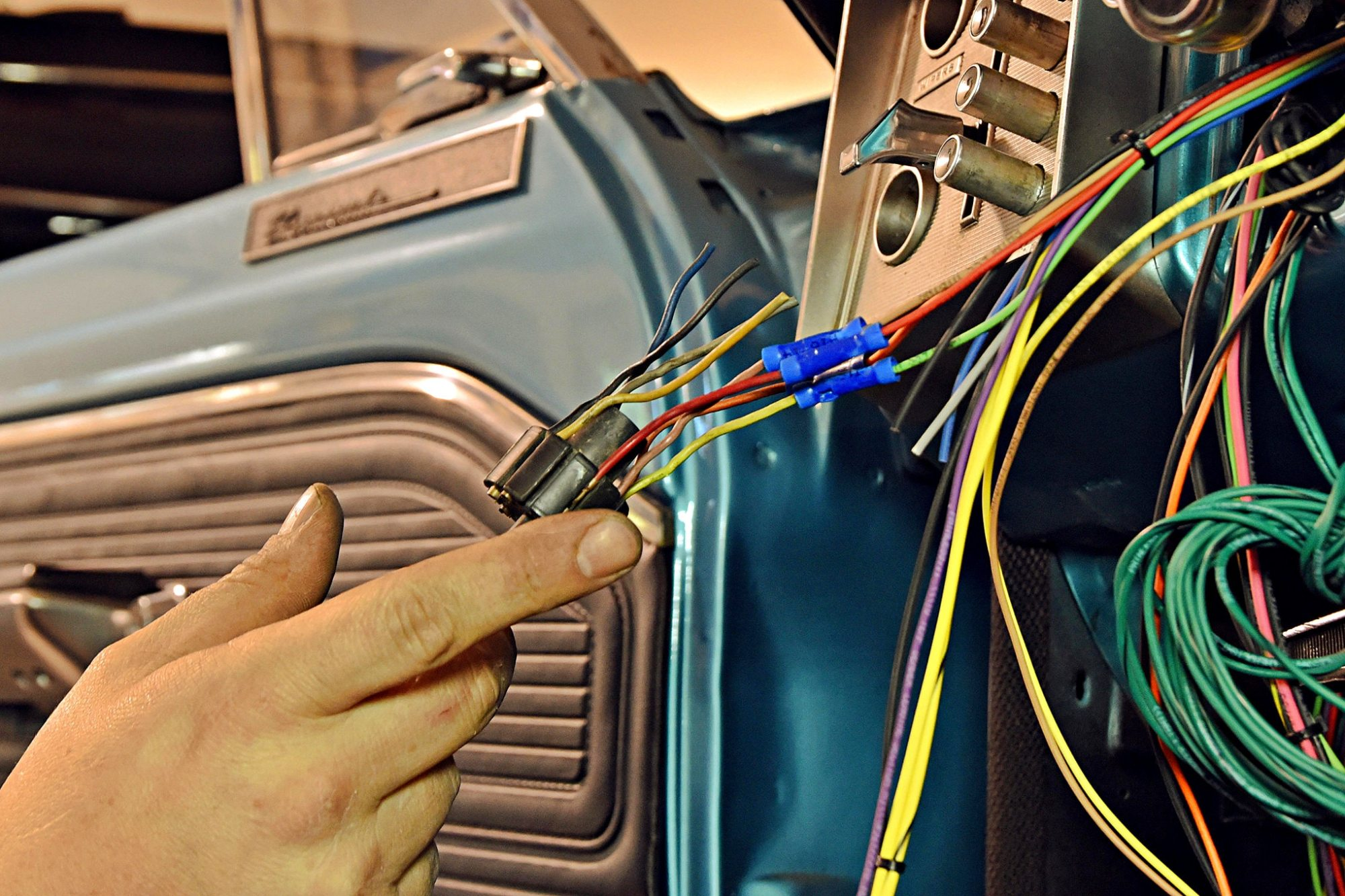 hight resolution of how to rewire a 1965 plymouth barracuda the painless way hot rod 780768 40 wiring diagram