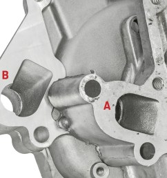 04 generally hole style a is the most common style b is for some reverse rotation efi truck engines but sanchez claims he s seen either style used with  [ 2040 x 1360 Pixel ]