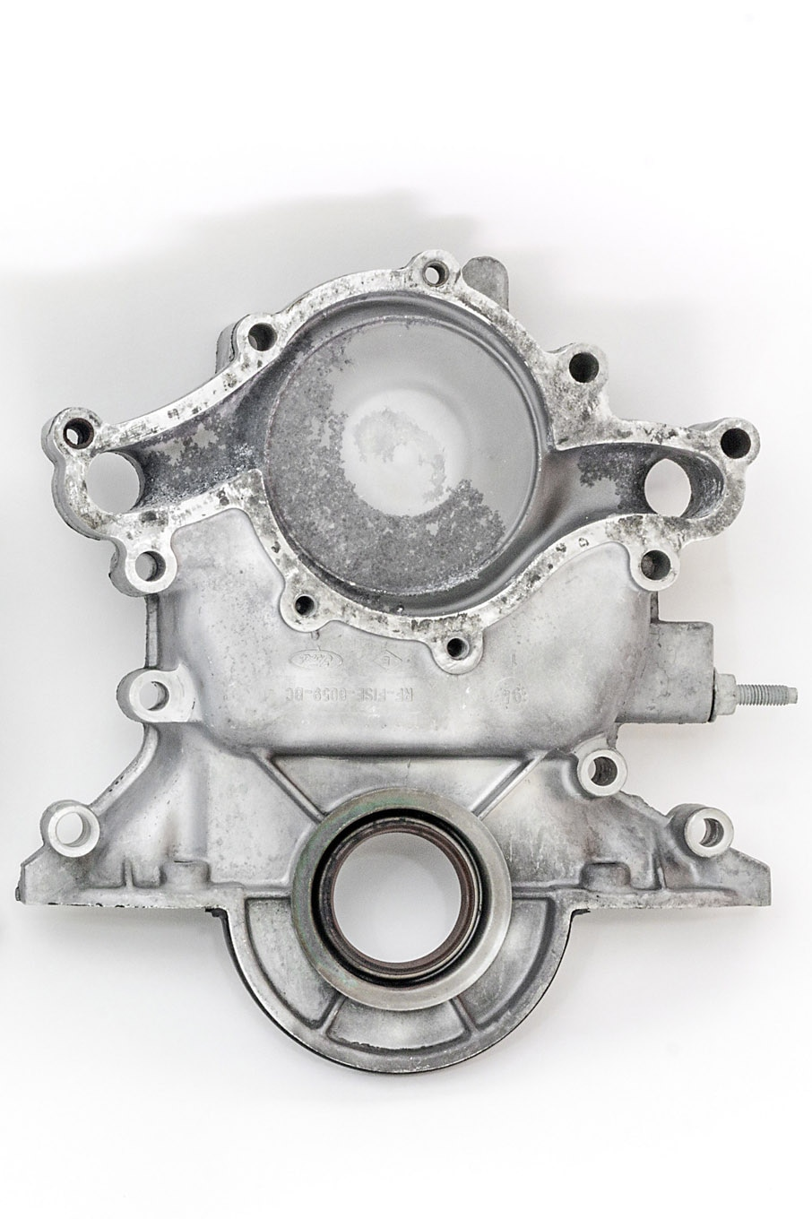 hight resolution of 10 so called explorer water pumps don t have a backing plate instead they bolt directly to this unique timing cover
