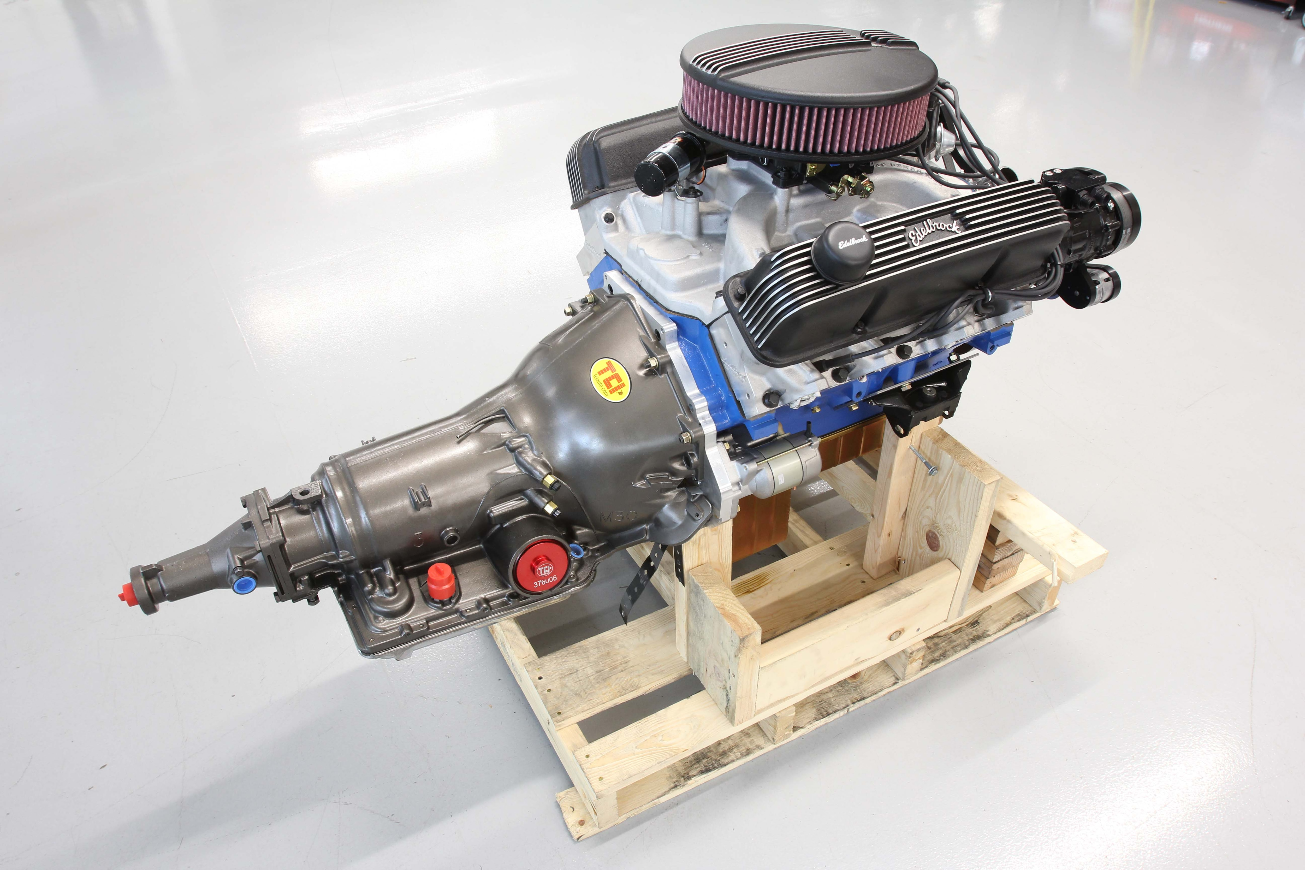hight resolution of a modern 4l60e trans backing a vintage ford fe engine hot rod network rh hotrod com ford 3910 parts diagram ford 3910 parts diagram