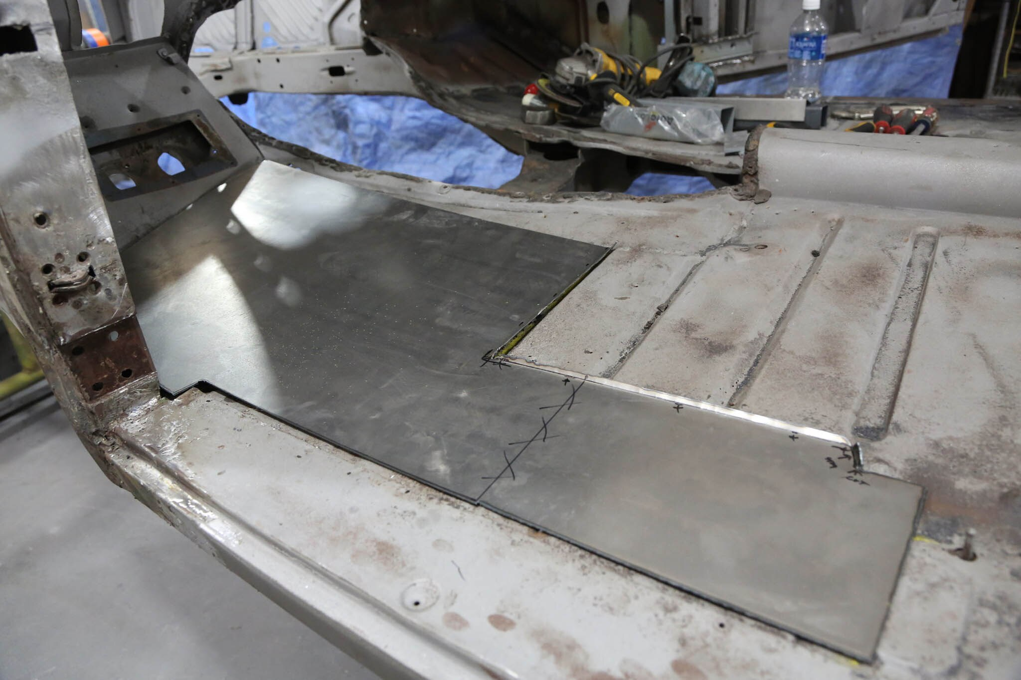 How to Fabricate and Install Replacement Floor Pans  Hot