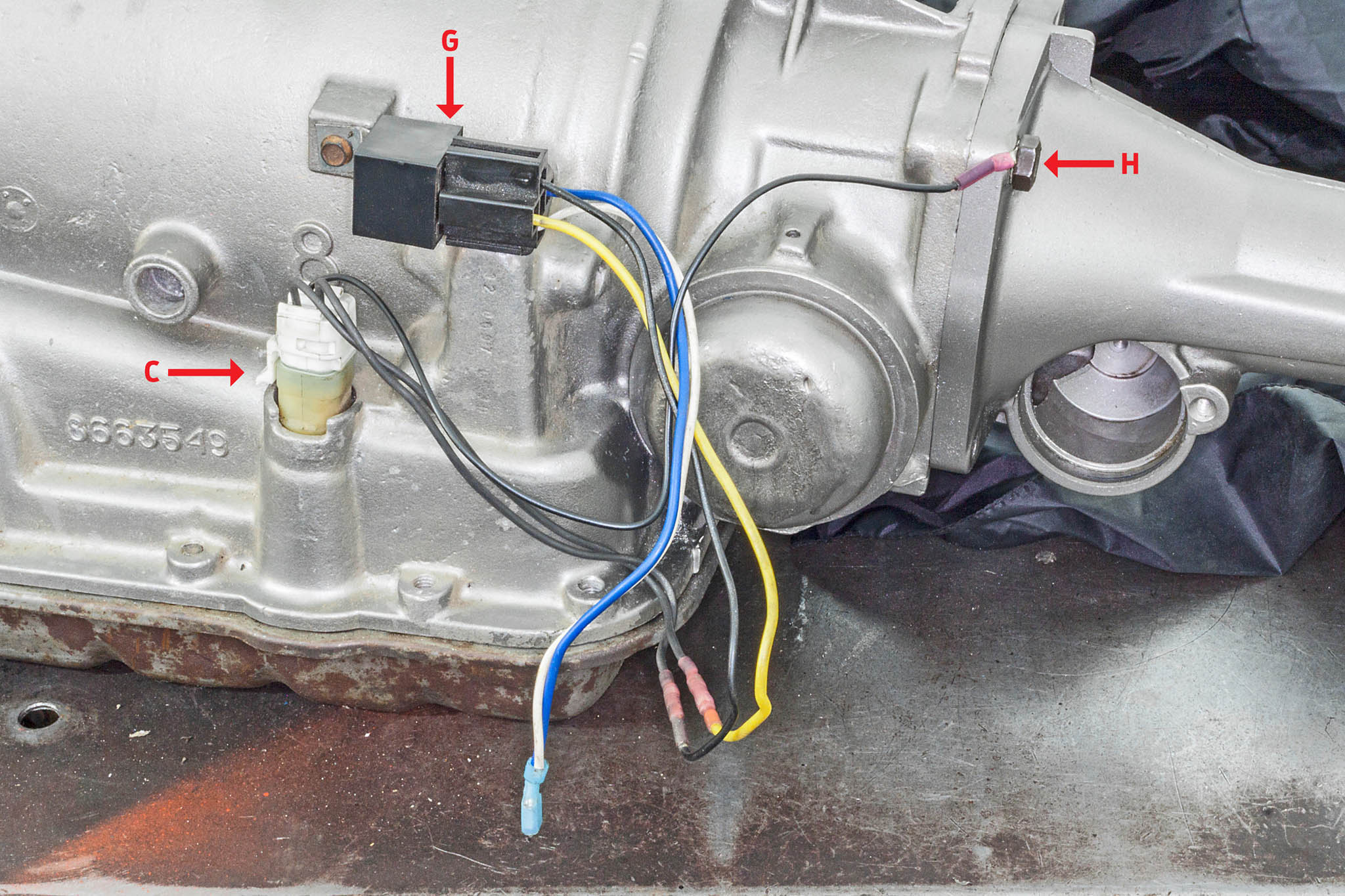 4l60e wiring harness diagram