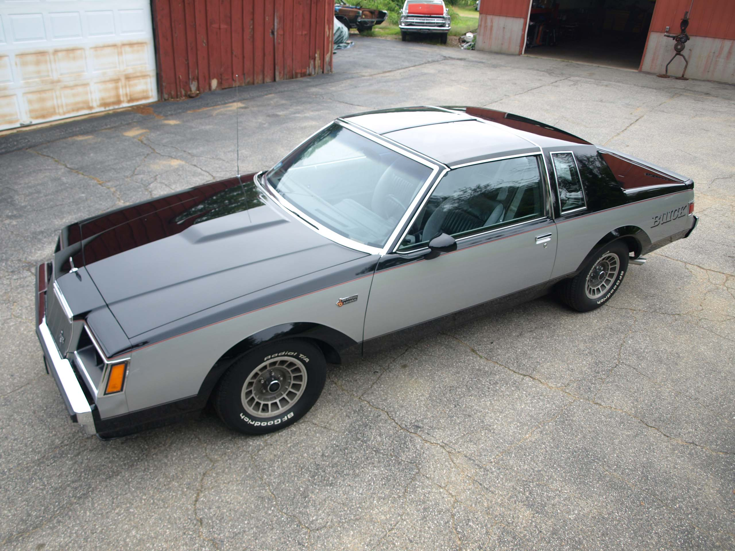 this grand national coulda had a v8 and got one hot rod network buick gn wiring under hood [ 2560 x 1920 Pixel ]