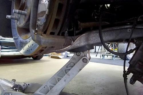 Installing Aldan American Coilovers on a C6 or C5 Corvette - Swap