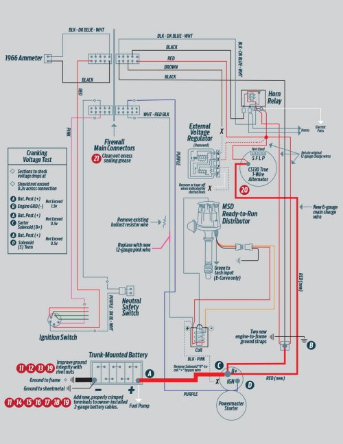 small resolution of 10 the chevelle had severe voltage drops and inadequate wiring this diagram calls out necessary upgrades