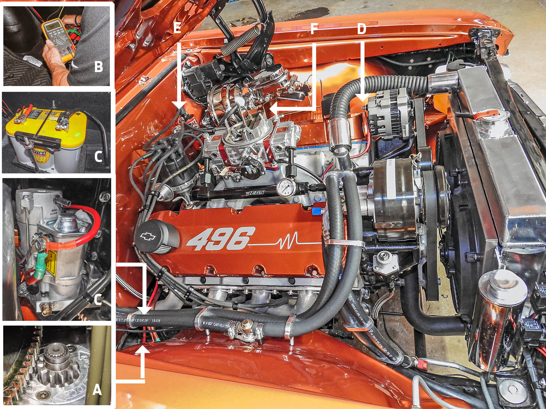 hight resolution of hot rod rescue 1966 chevelle with starter ignition problems hot 69 chevelle starter wiring 66 chevelle wiring diagram malibu starter wire