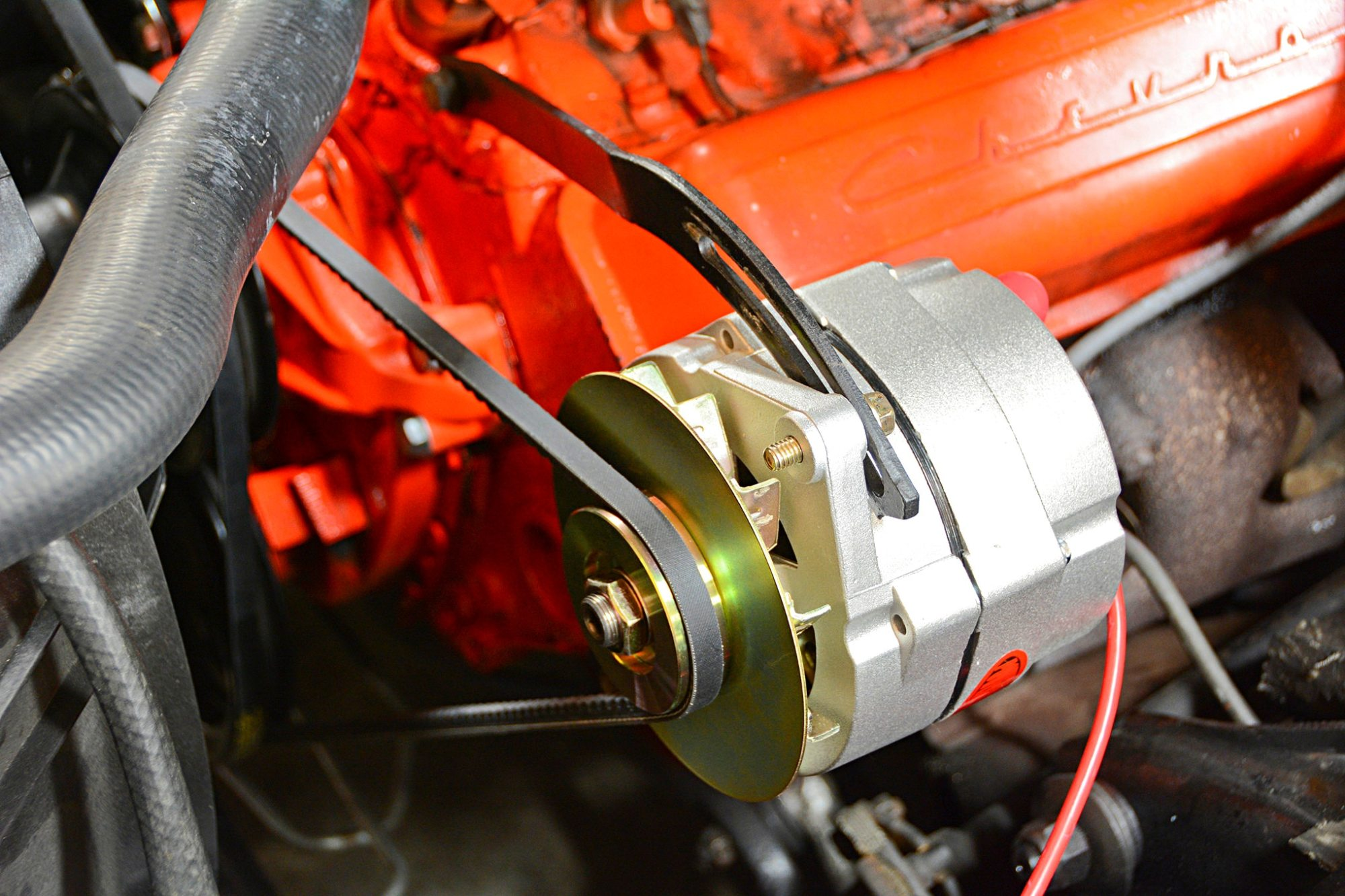 hight resolution of upgrade your gm charging system with a one wire alternatorchevy one wire alternator wiring 15
