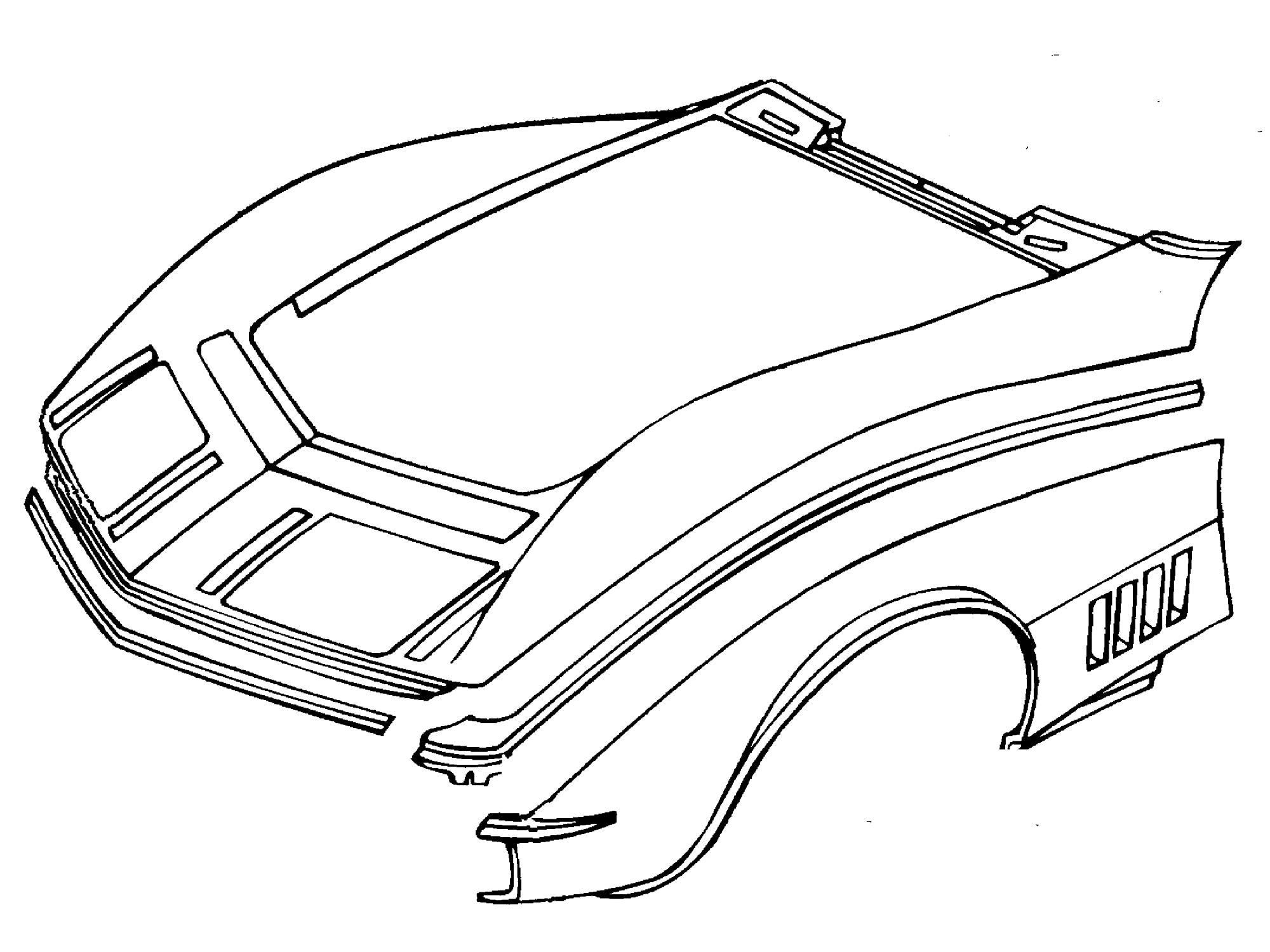 Repairing Your Corvette's Minor Fiberglass Damage