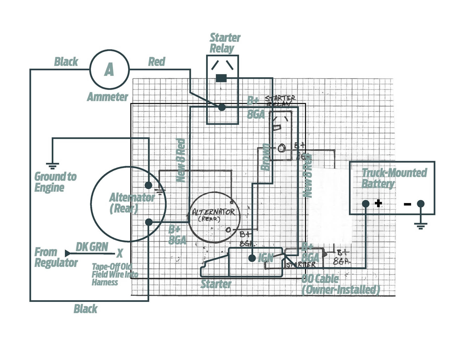 one wire alternator wiring diagram mopar sony bluetooth car stereo robert foleys 426 max wedgepowered 1963 polara overheats
