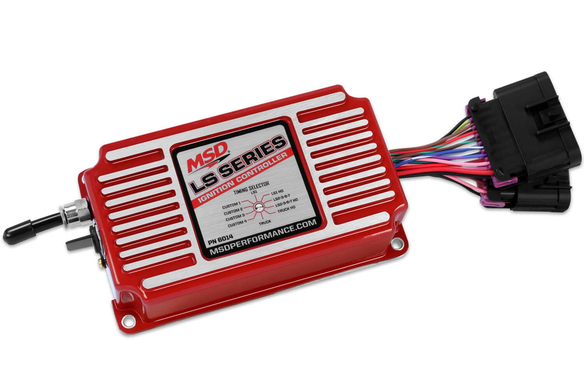 hight resolution of msd ignition controller for ls engines has huge feature set