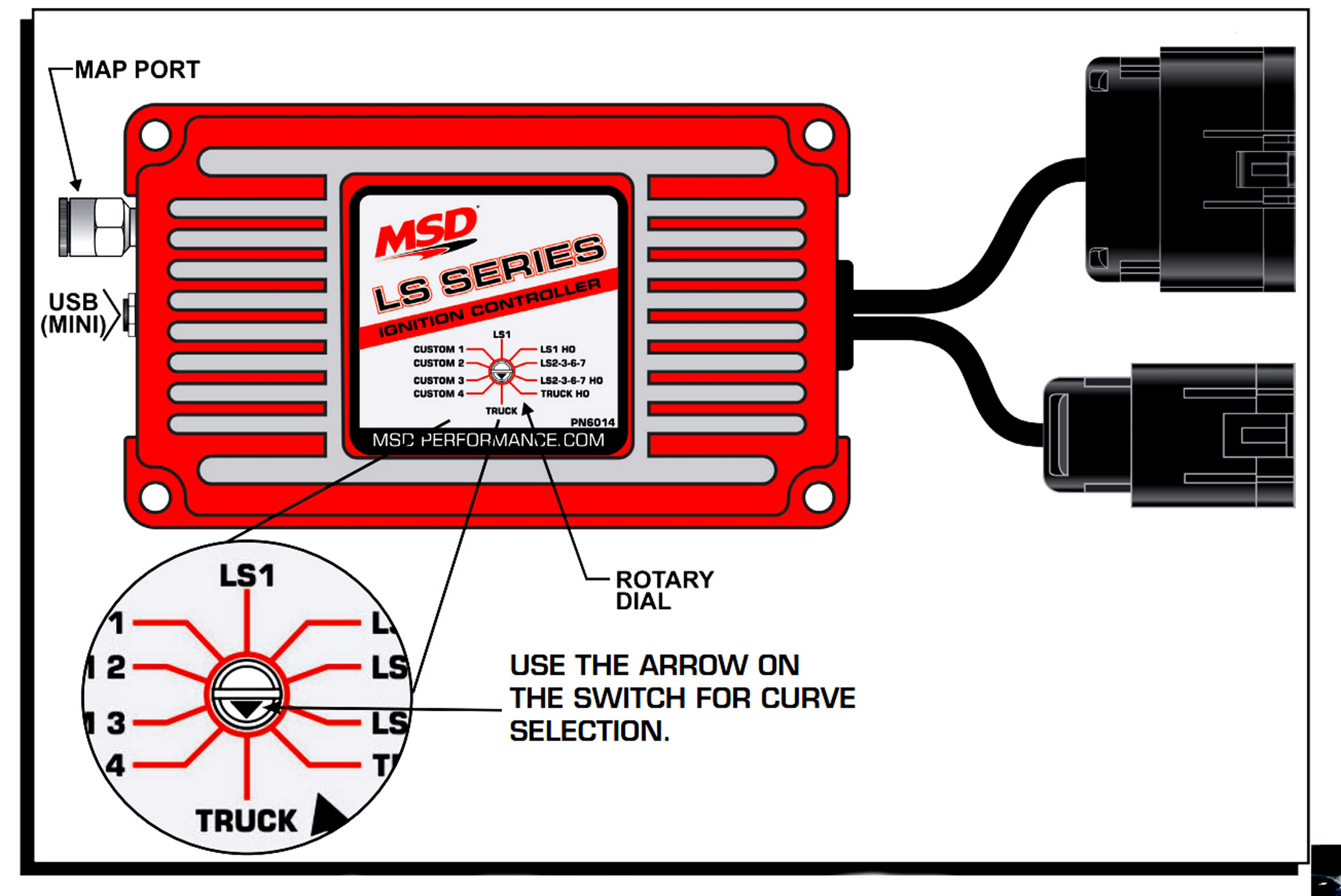 hight resolution of msd ignition controller for ls engines has huge feature set hotthe ho curves generally add 4