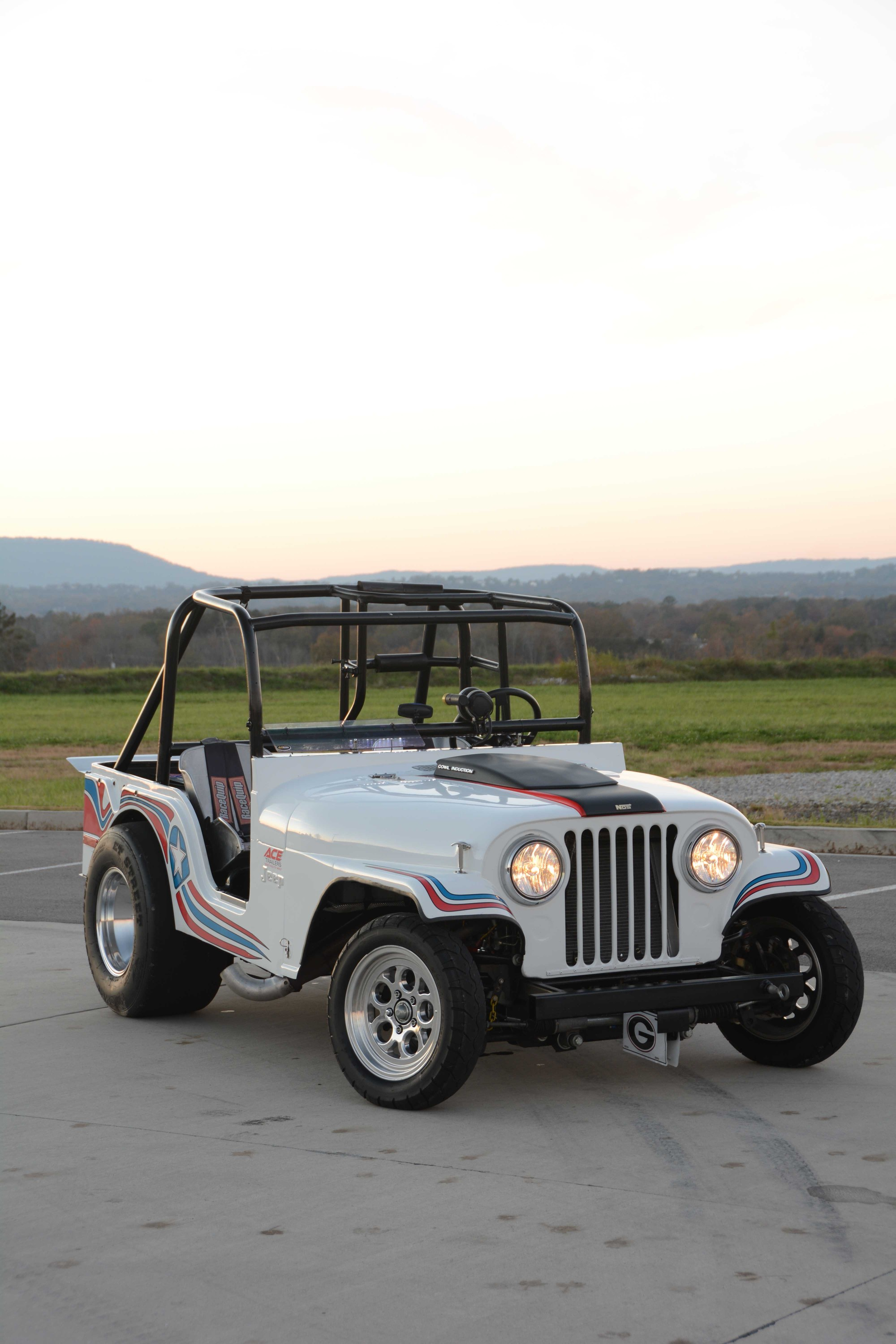 hight resolution of this boosted jeep cj5 is ready for drag racing action
