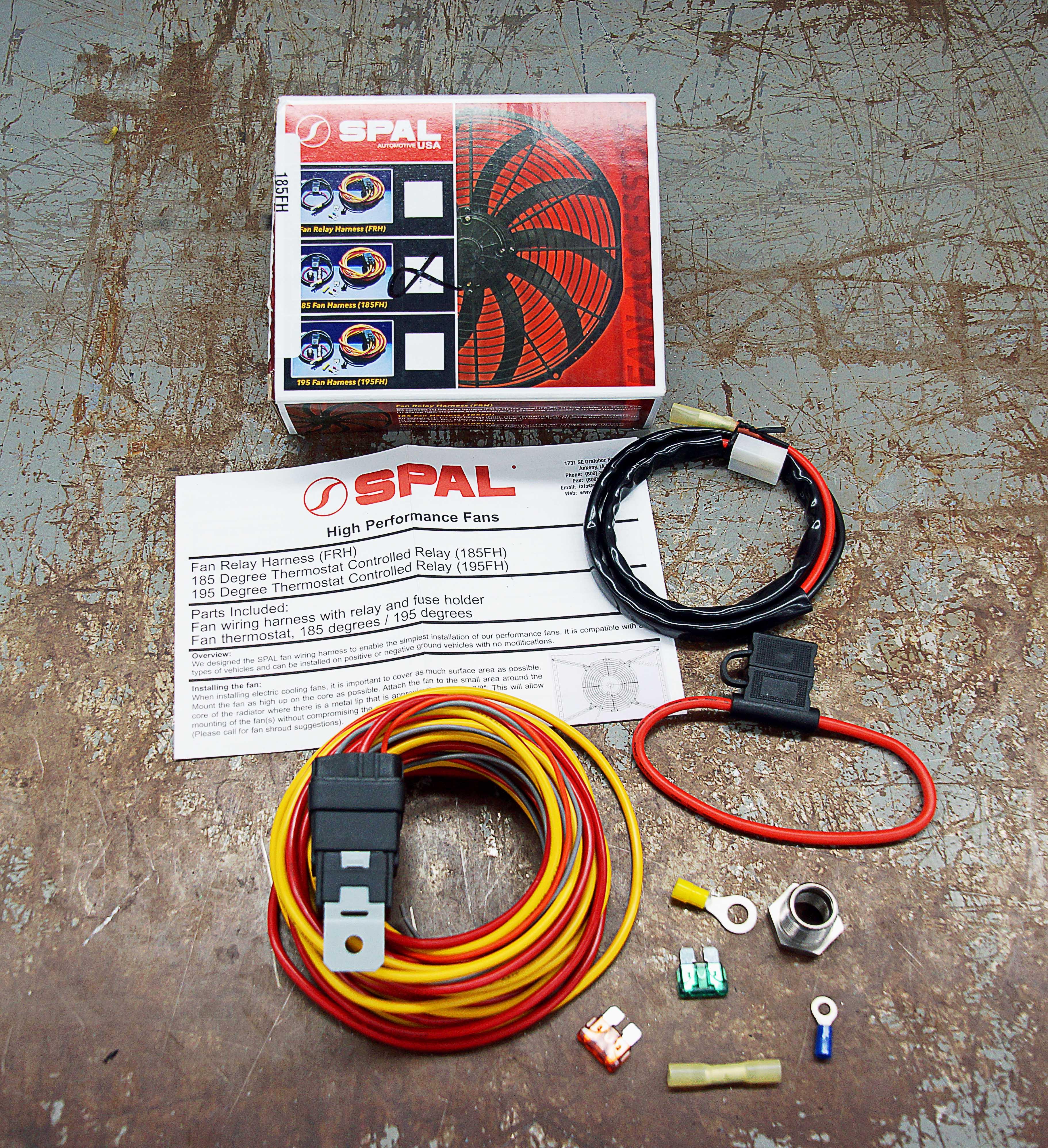 dewitt radiator corvette electric fan wiring diagram [ 3645 x 3993 Pixel ]