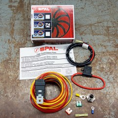 Spal Electric Fan Wiring Diagram Ford 1 Wire Alternator Testing A Radiator And From Us Hot Rod
