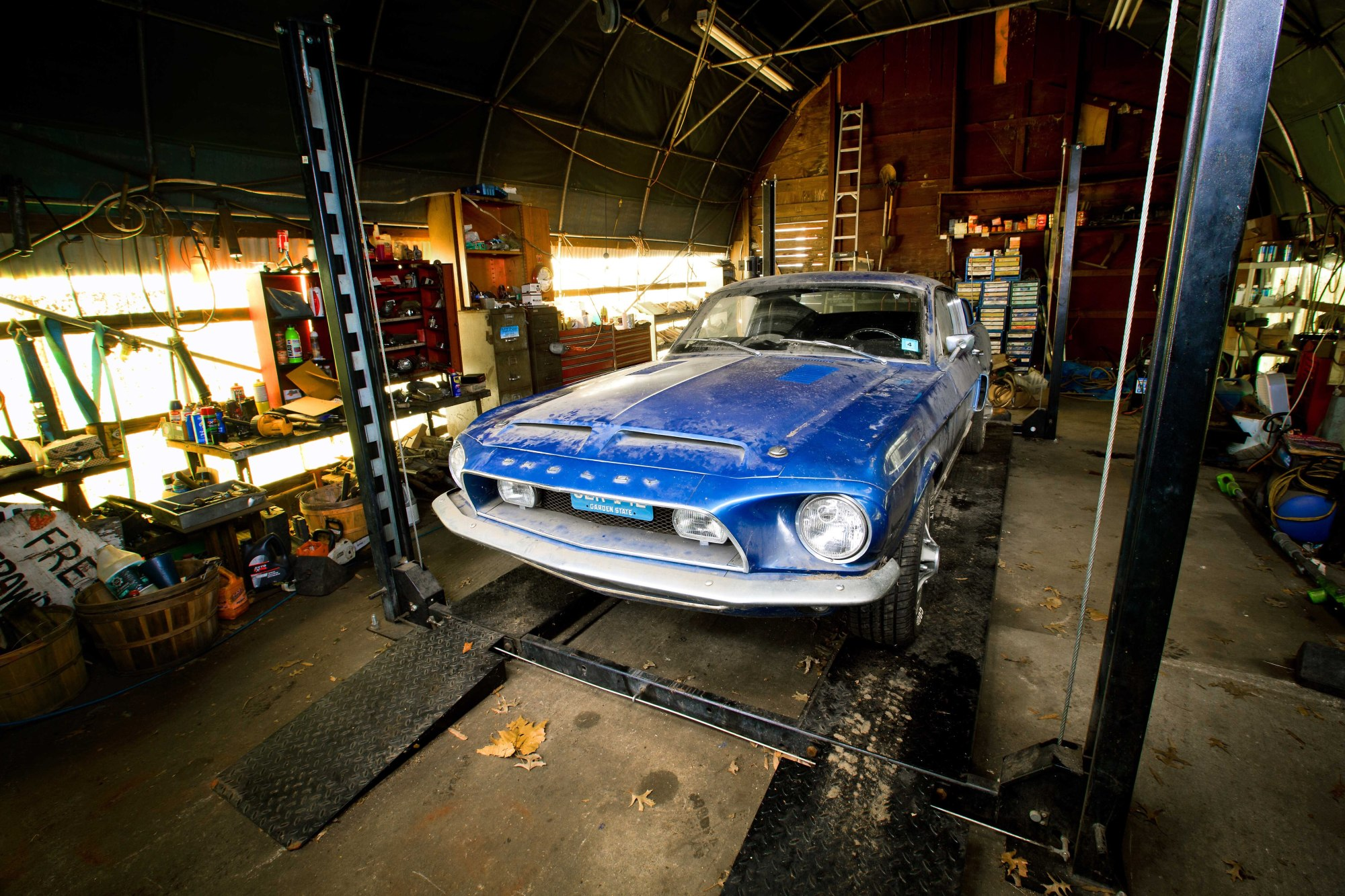 hight resolution of 1968 shelby gt500 kr barn find