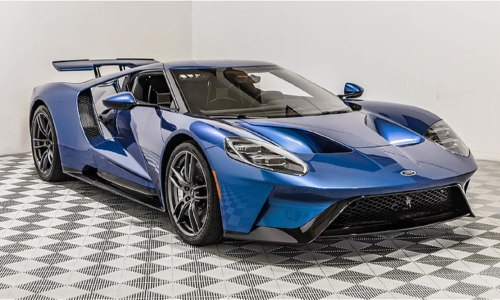 small resolution of john cena s old 2017 ford gt to cross the auction block at monterey car week