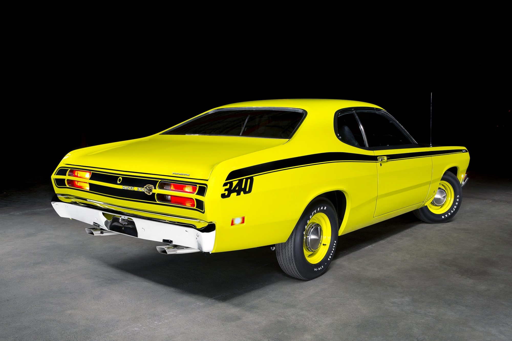hight resolution of steve cabral s 1971 plymouth duster 340 has been restored to be the finest example of an a body