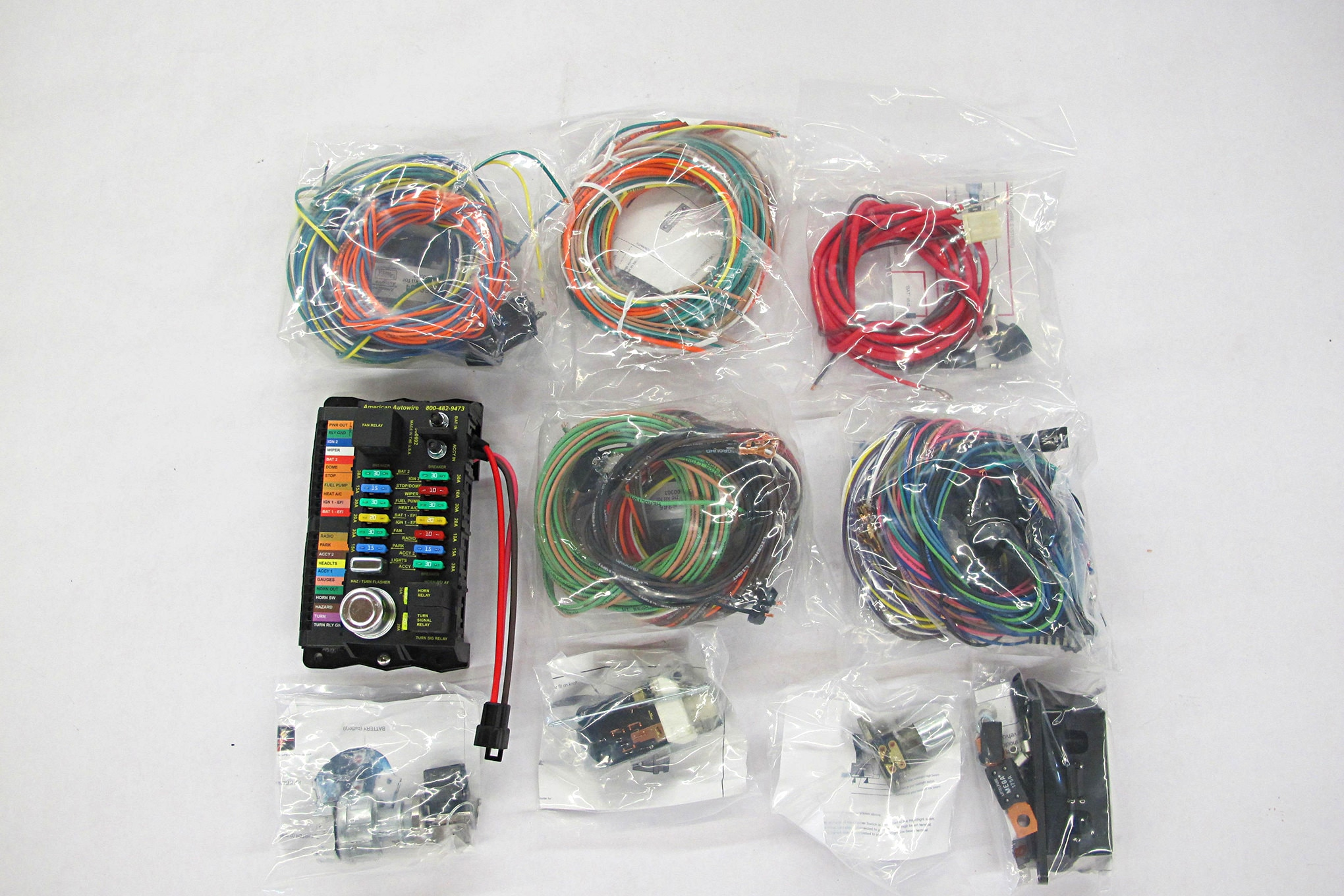hight resolution of no worry wiring tips on choosing and installing a wiring harness hot rod fuse block release date price and specs wiring 18 circuit fuse
