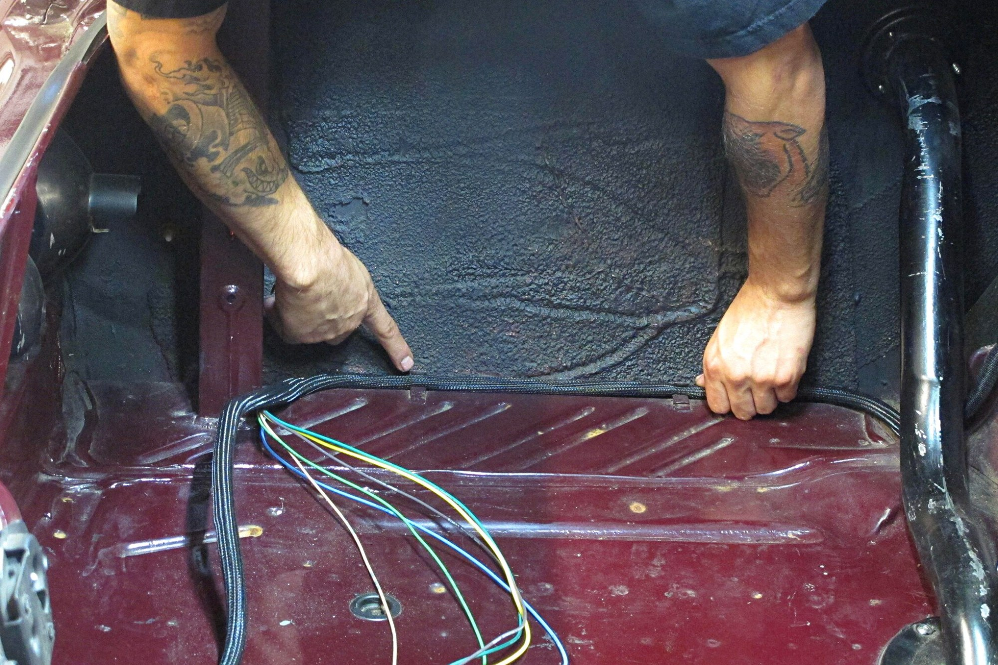 hight resolution of wiring harness for plymouth duster wiring diagram centre installing a new wiring system on our 1974