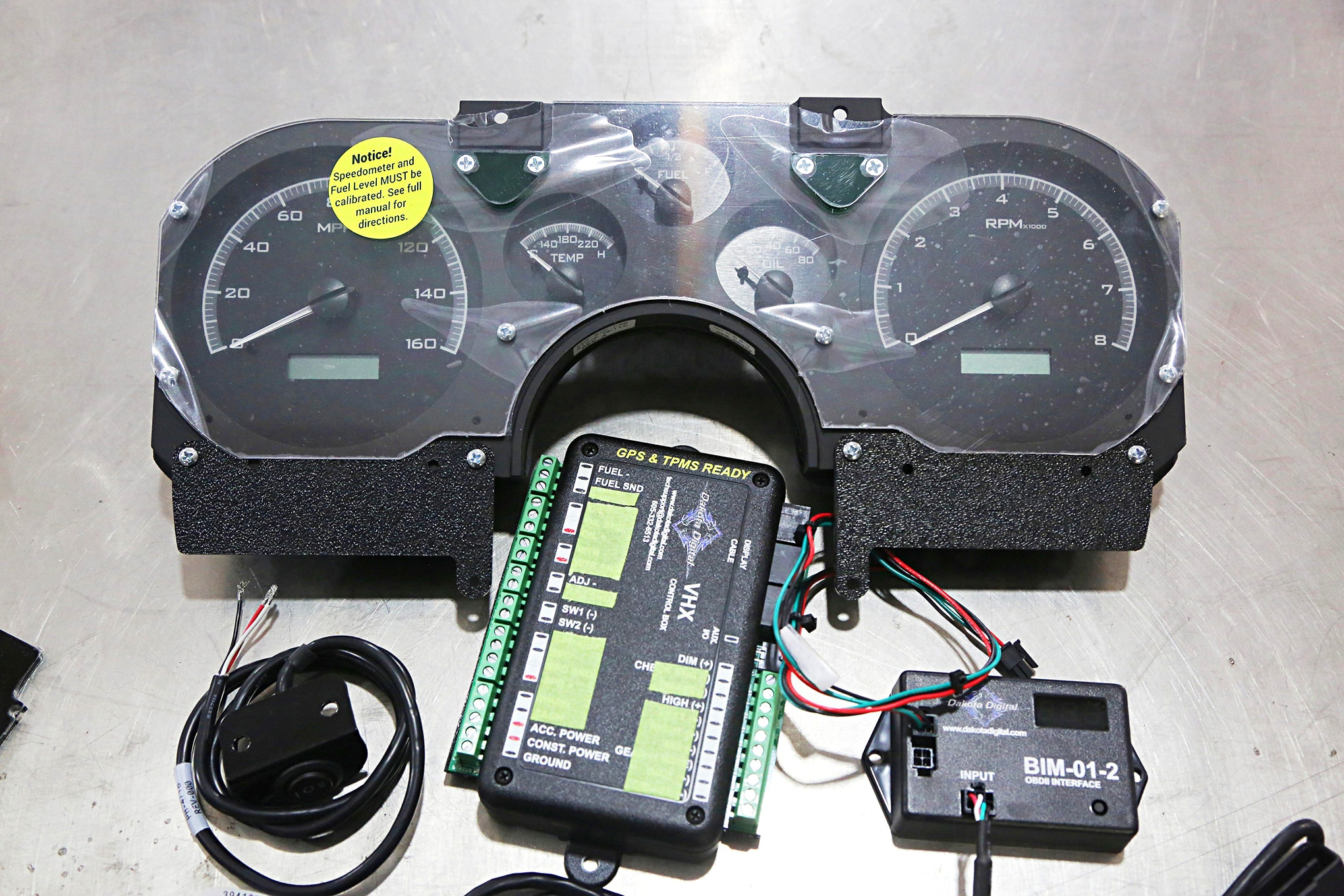 medium resolution of vhx instrument cluster removes barrier for lt1 swaps hot rod network super pro tachometer wiring diagram