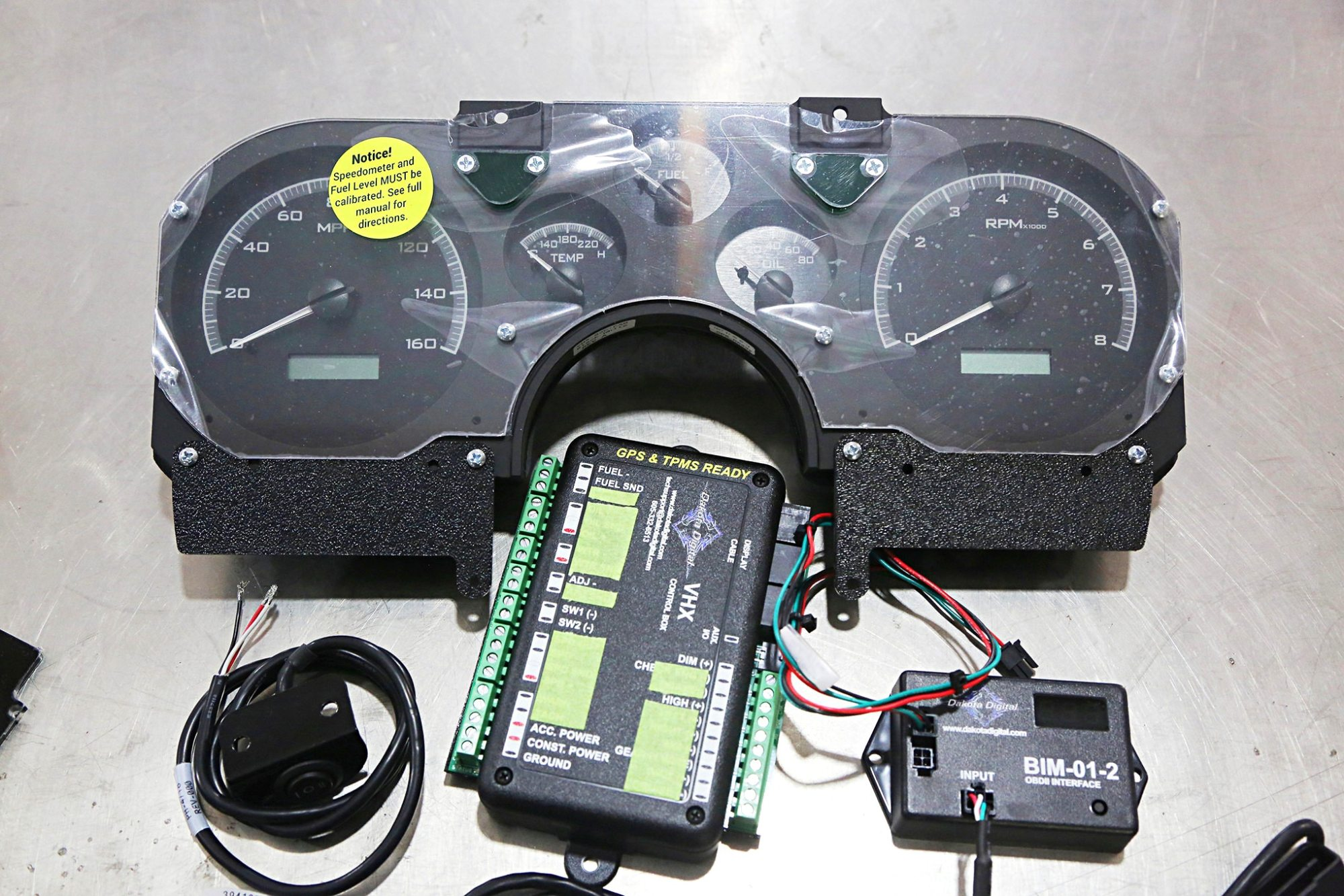hight resolution of vhx instrument cluster removes barrier for lt1 swaps