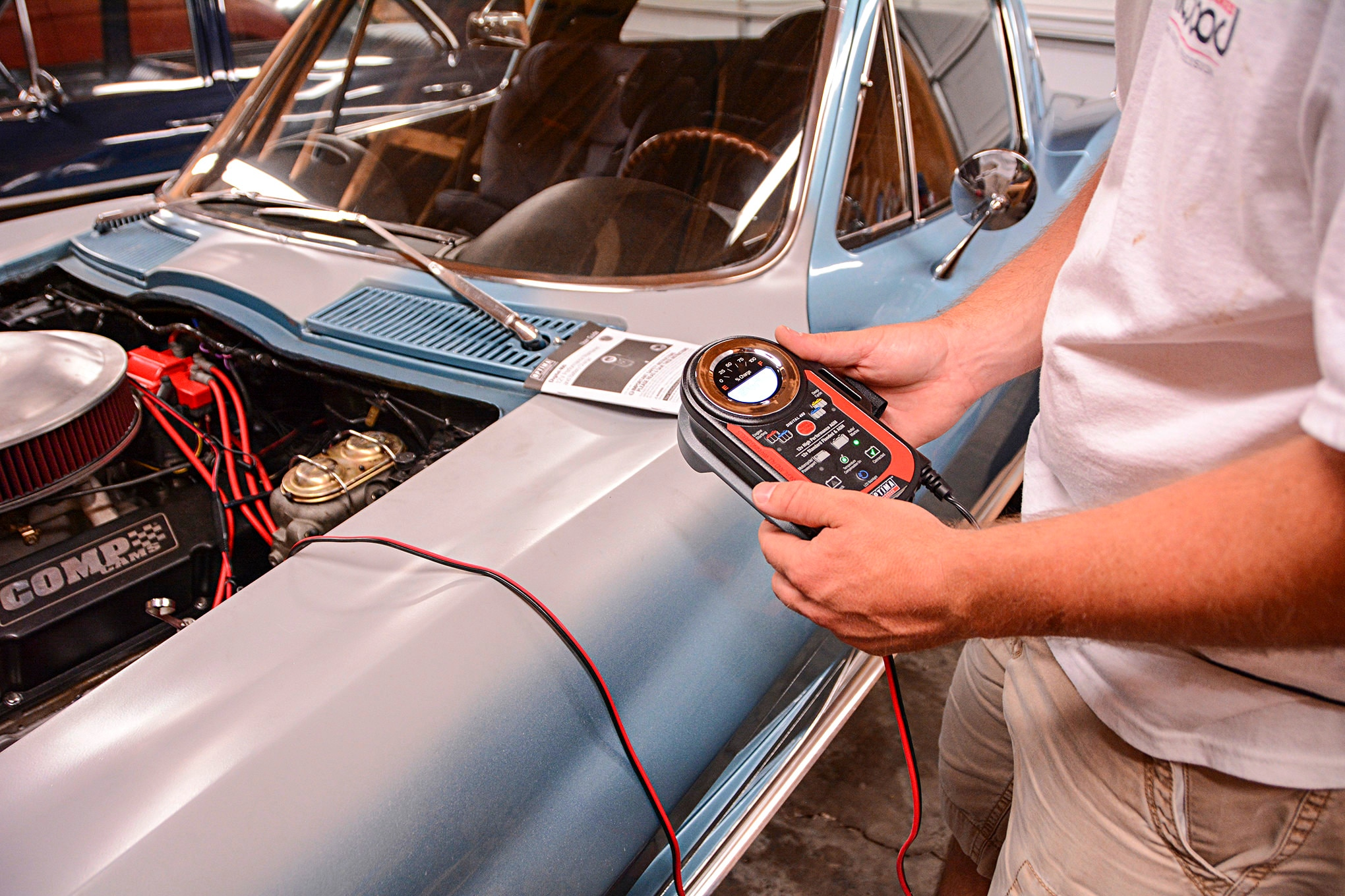 show car engine wiring wiring diagram forward corvette wiring gremlins solved and charging system upgrade show [ 2040 x 1360 Pixel ]