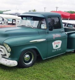 this 1957 chevrolet 3100 pickup is a jurassic classic [ 2040 x 1360 Pixel ]