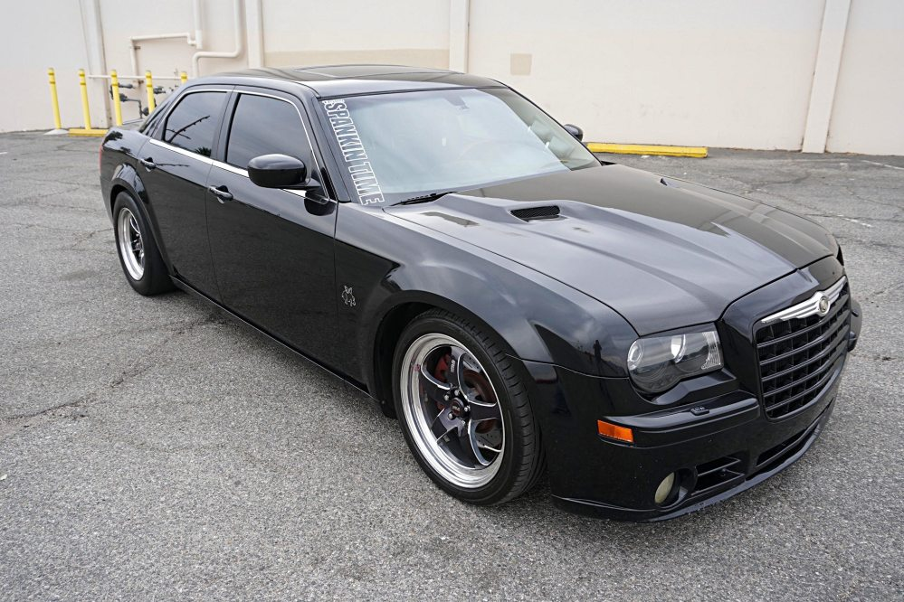 medium resolution of sleek black and unassuming albert villalobos s chrysler 300c may look fairly stock but this mopar has been reworked for ultra performance from front to
