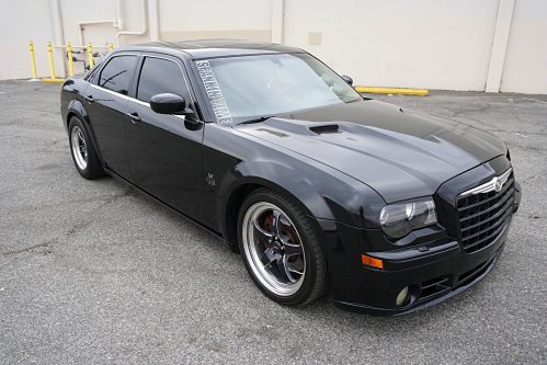 small resolution of sleek black and unassuming albert villalobos s chrysler 300c may look fairly stock but this mopar has been reworked for ultra performance from front to