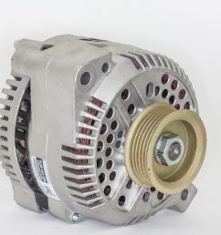 how to install a high output ford 3g alternator into older fords [ 2040 x 1360 Pixel ]