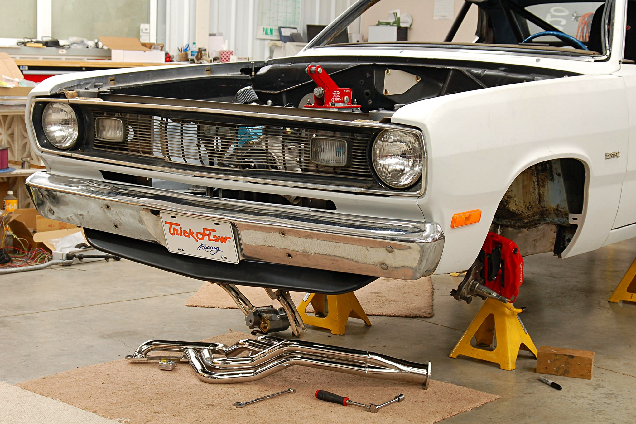 installing a new wiring system on our 1974 plymouth duster hot rod network [ 1920:1280 x 1920 Pixel ]