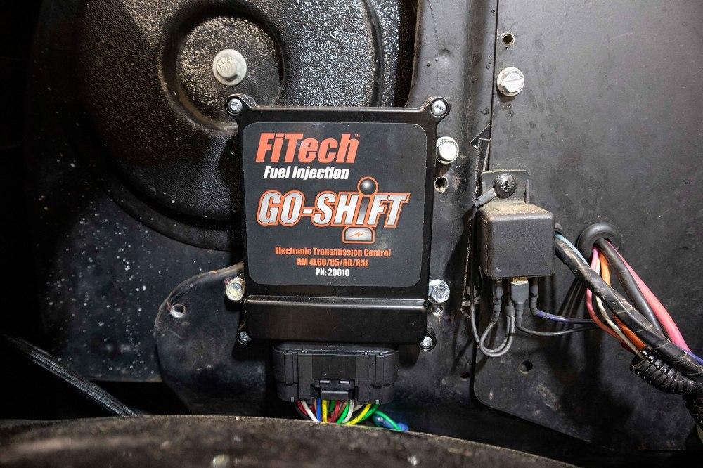 medium resolution of installing the go shift transmission controller from fitech for gm 4l60e 4l65e 4l80e and 4l85e